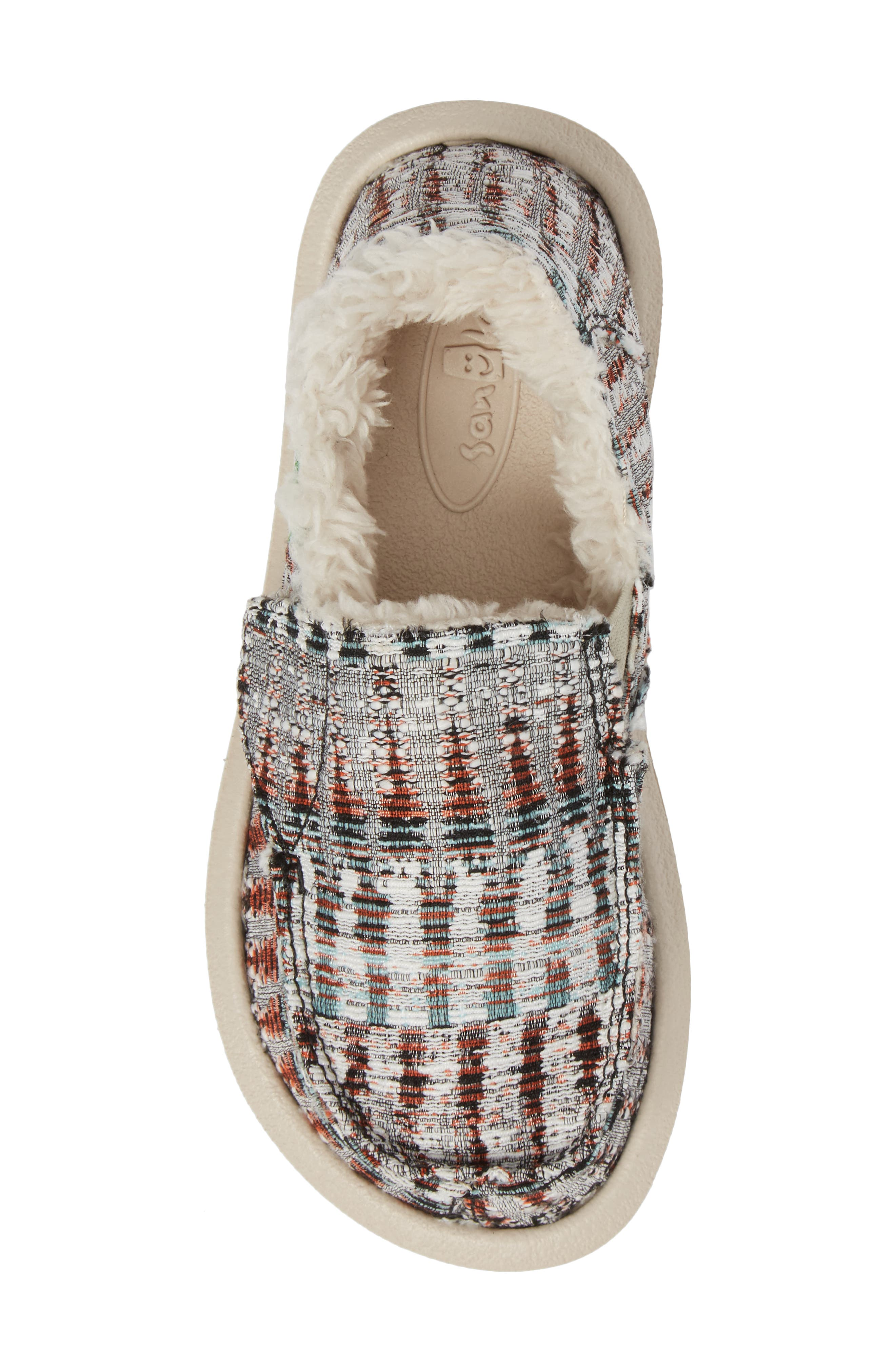 Lil Donna Ice Chill Faux Fur Slip-On,                             Alternate thumbnail 5, color,                             White