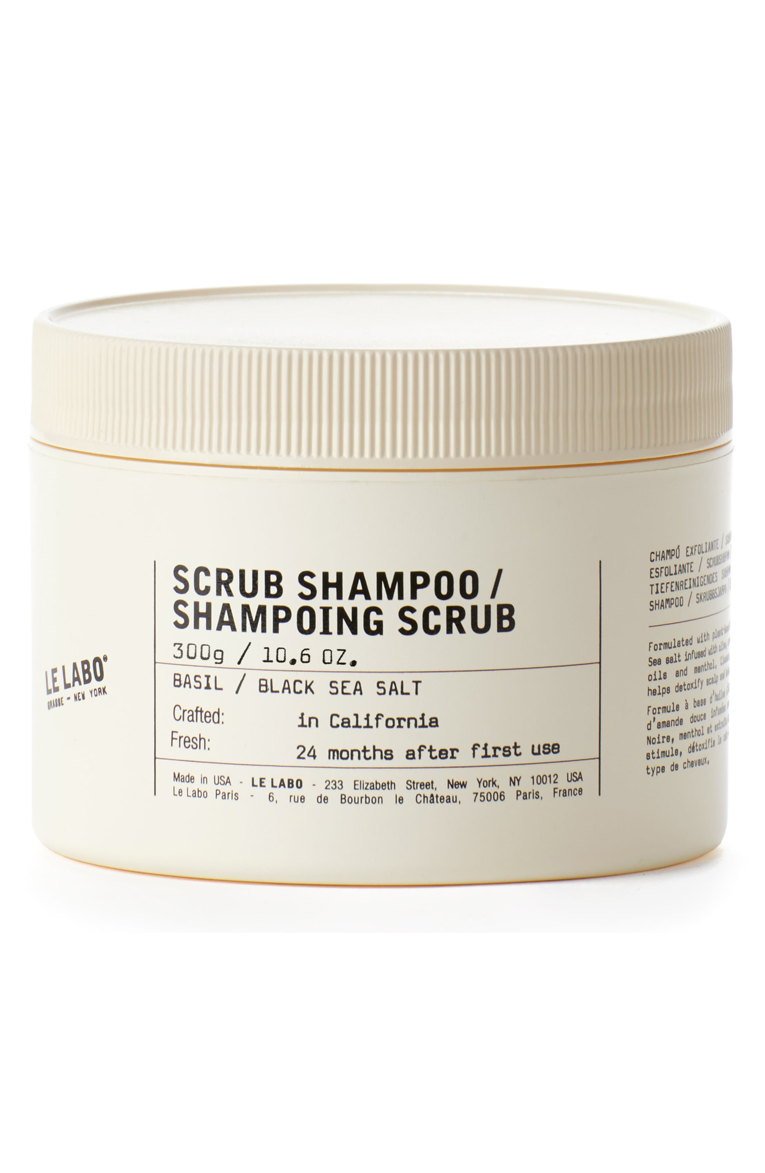 Scrub Shampoo,                         Main,                         color, No Color