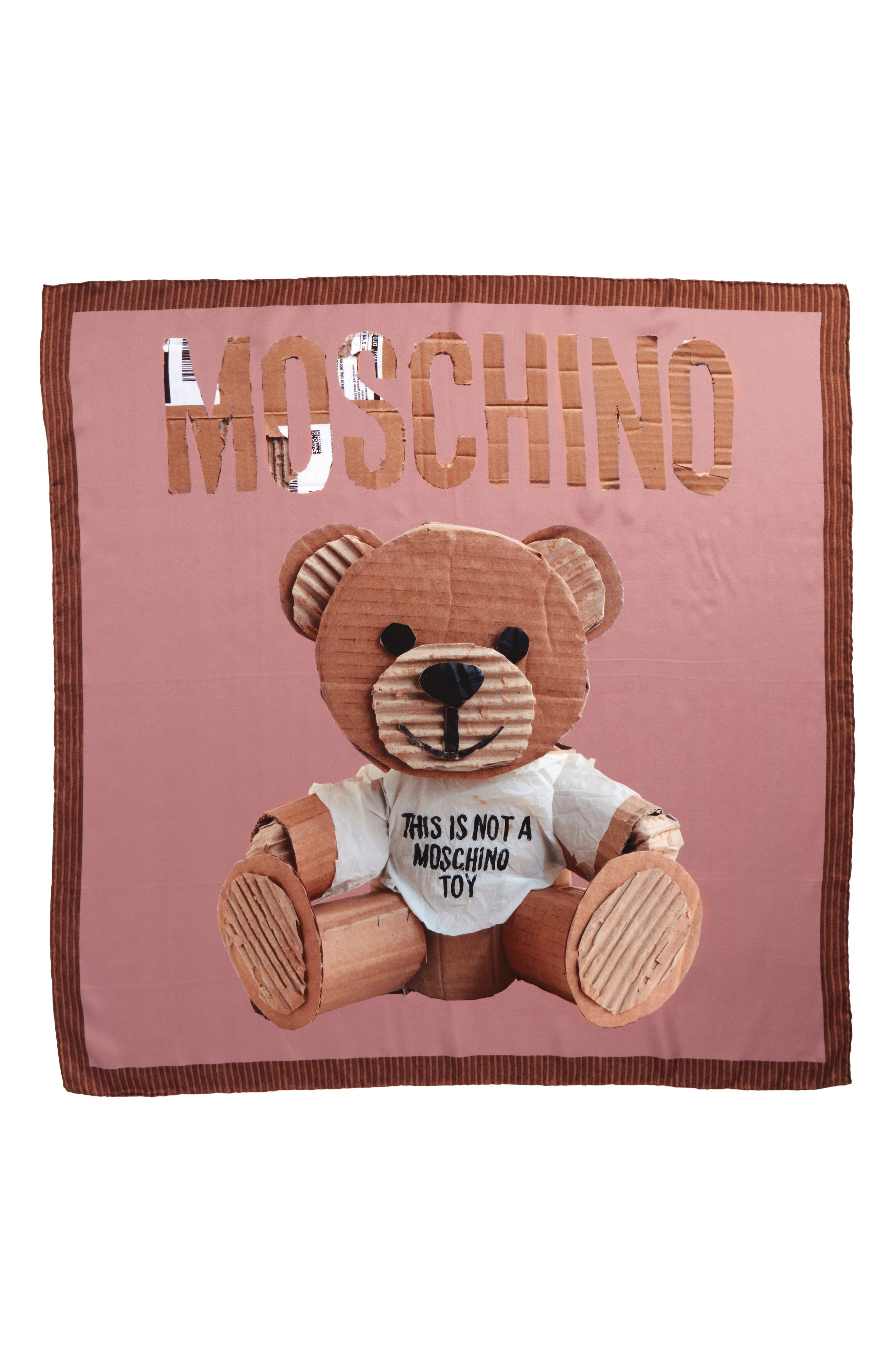 Alternate Image 1 Selected - Moschino Foulard Silk Square Scarf