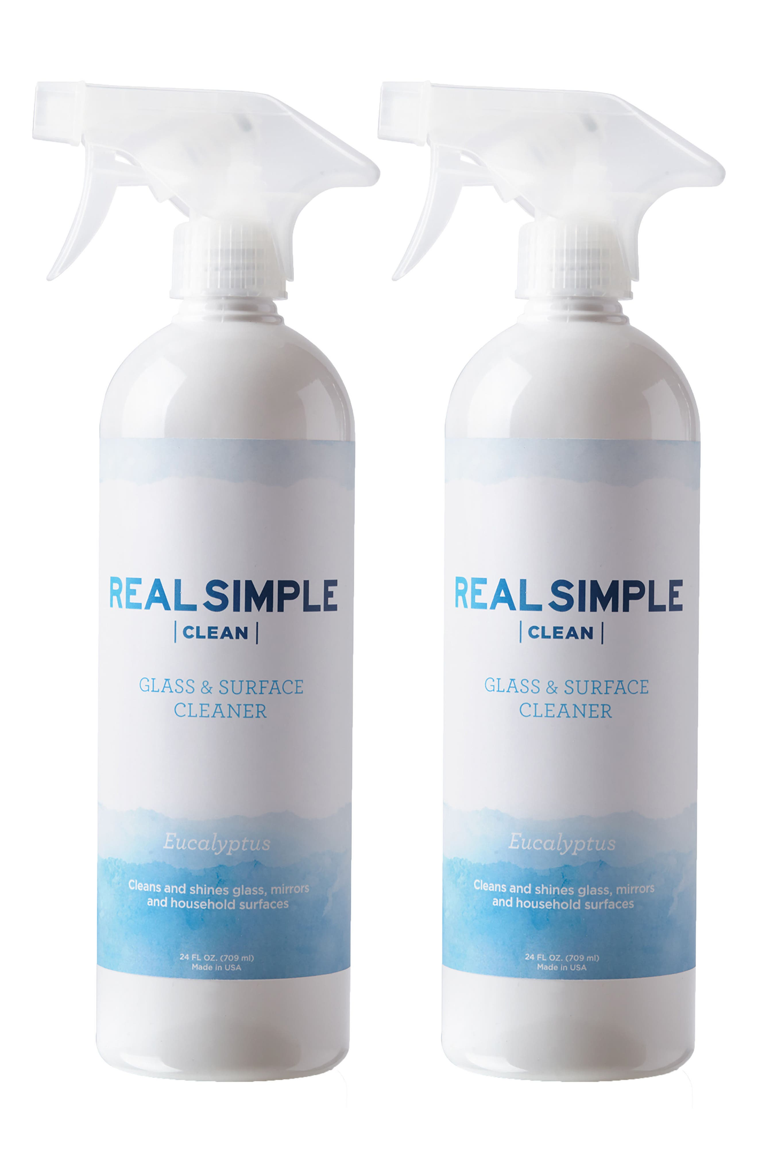 2-Pack Glass & Surface Cleaner,                         Main,                         color, Eucalyptus