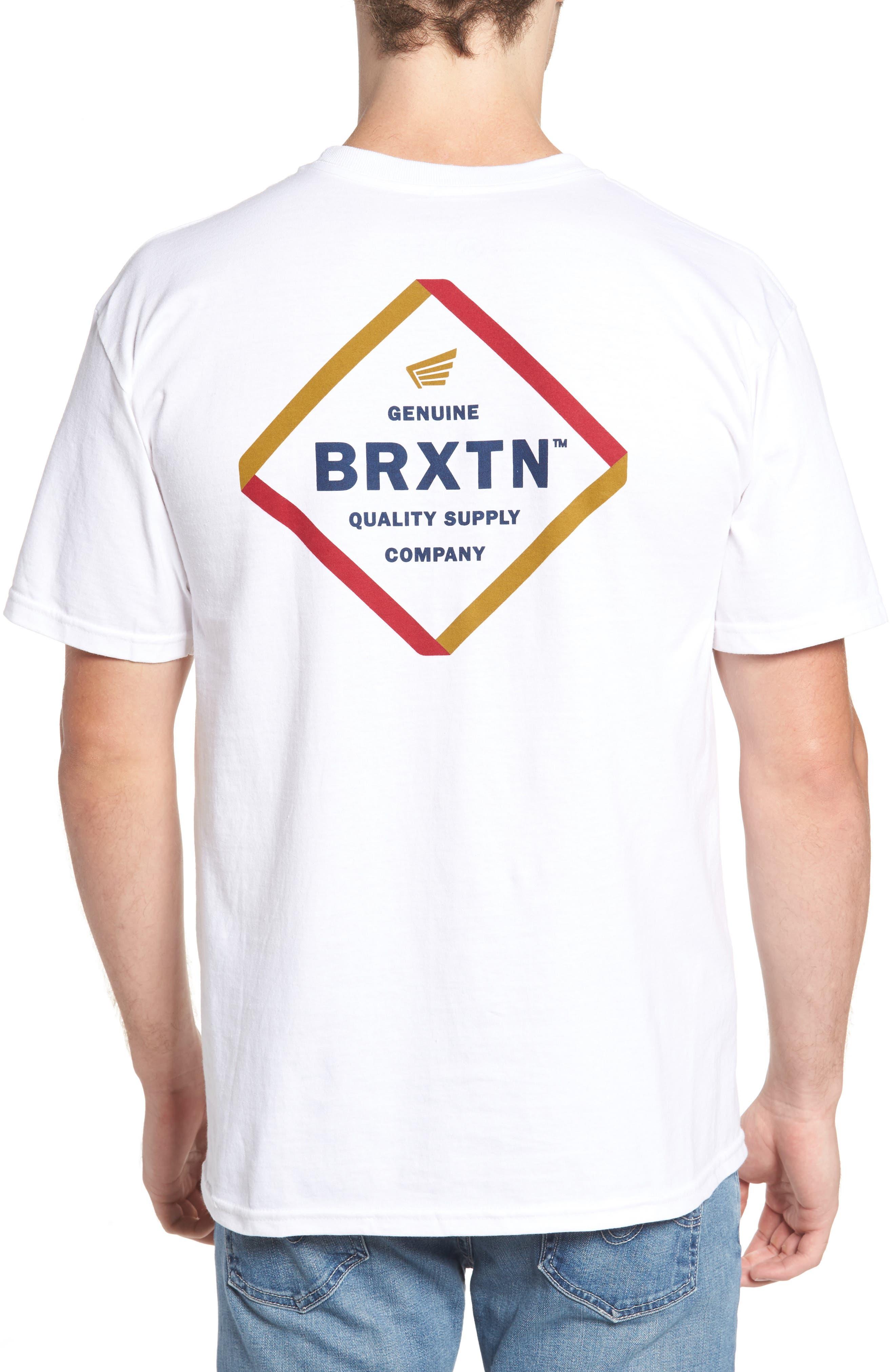 Alternate Image 2  - Brixton Peabody Standard T-Shirt