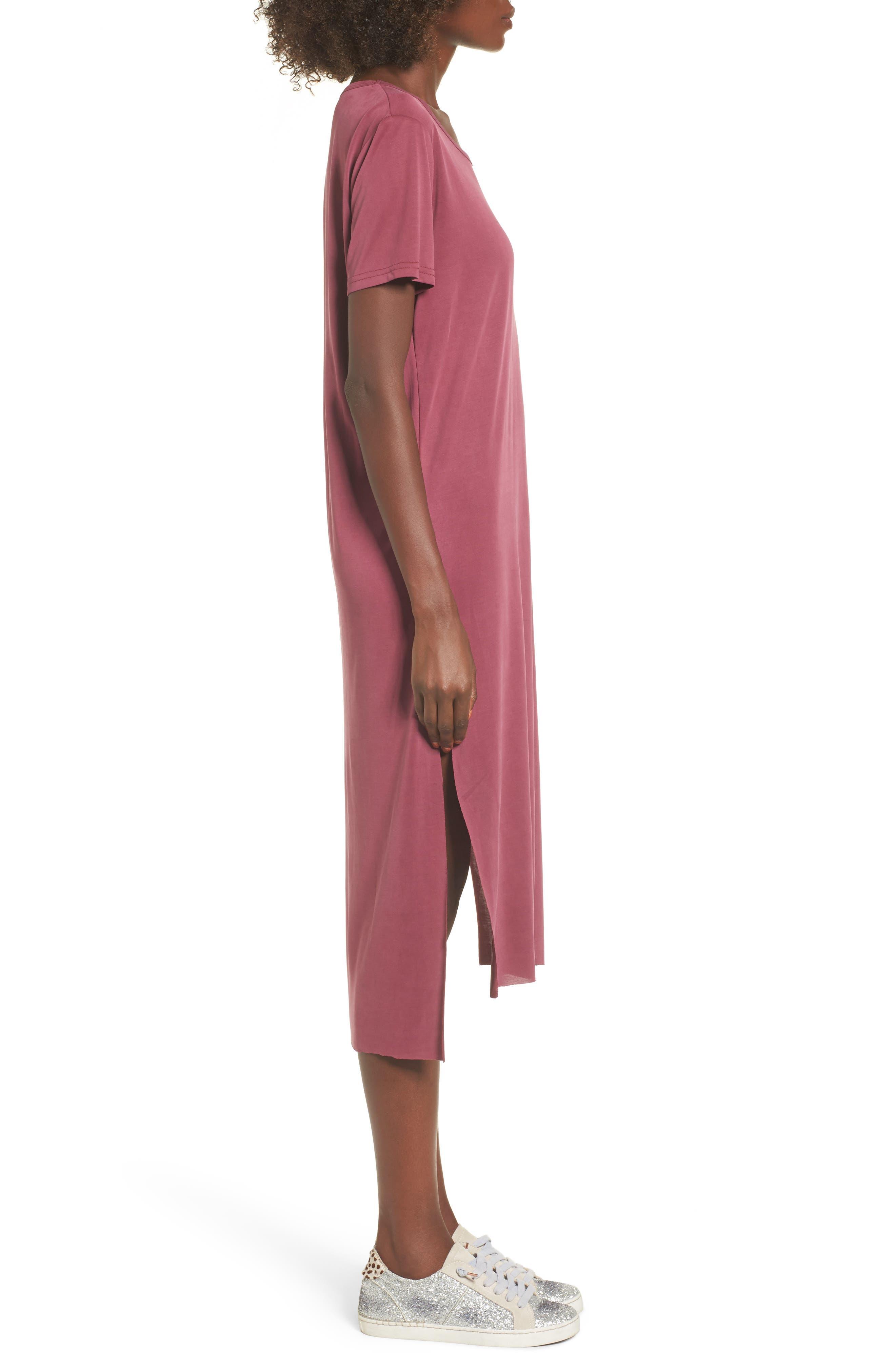 Alternate Image 3  - Lira Clothing Eden Midi T-Shirt Dress