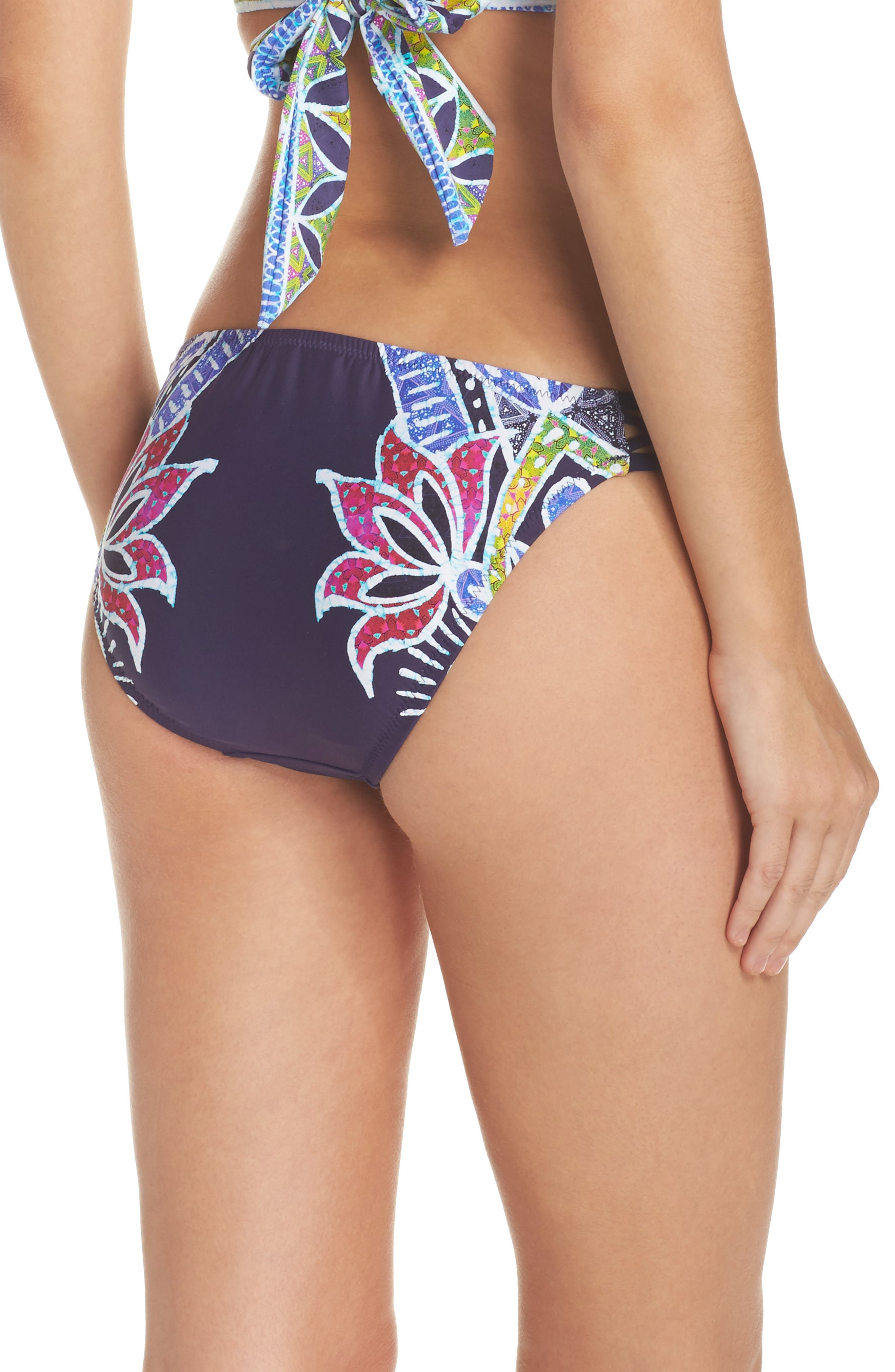 Alternate Image 2  - Trina Turk Lotus Bikini Bottoms