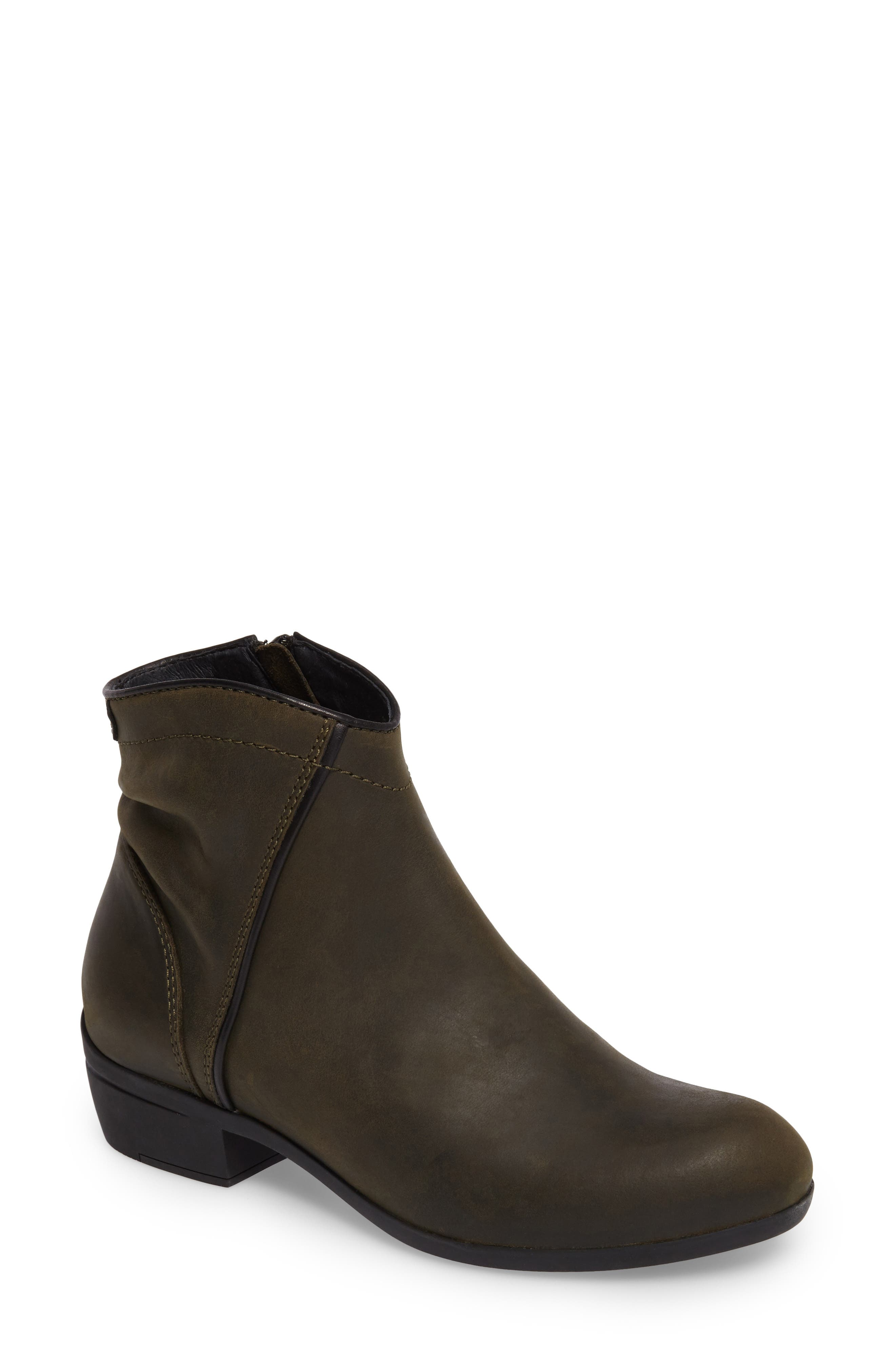 Winchester Bootie,                             Main thumbnail 1, color,                             Forest Leather