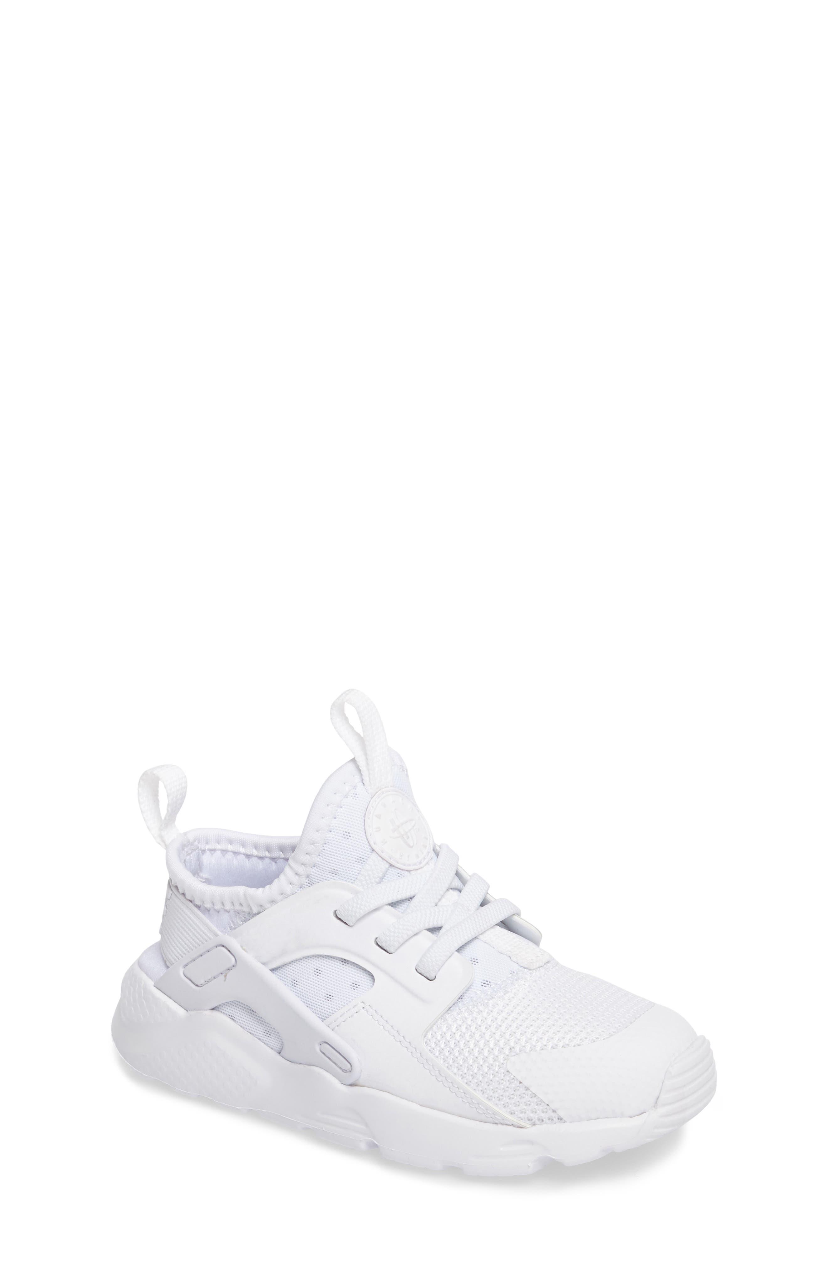 Alternate Image 1 Selected - Nike Huarache Run Ultra Sneaker (Baby, Walker & Toddler)