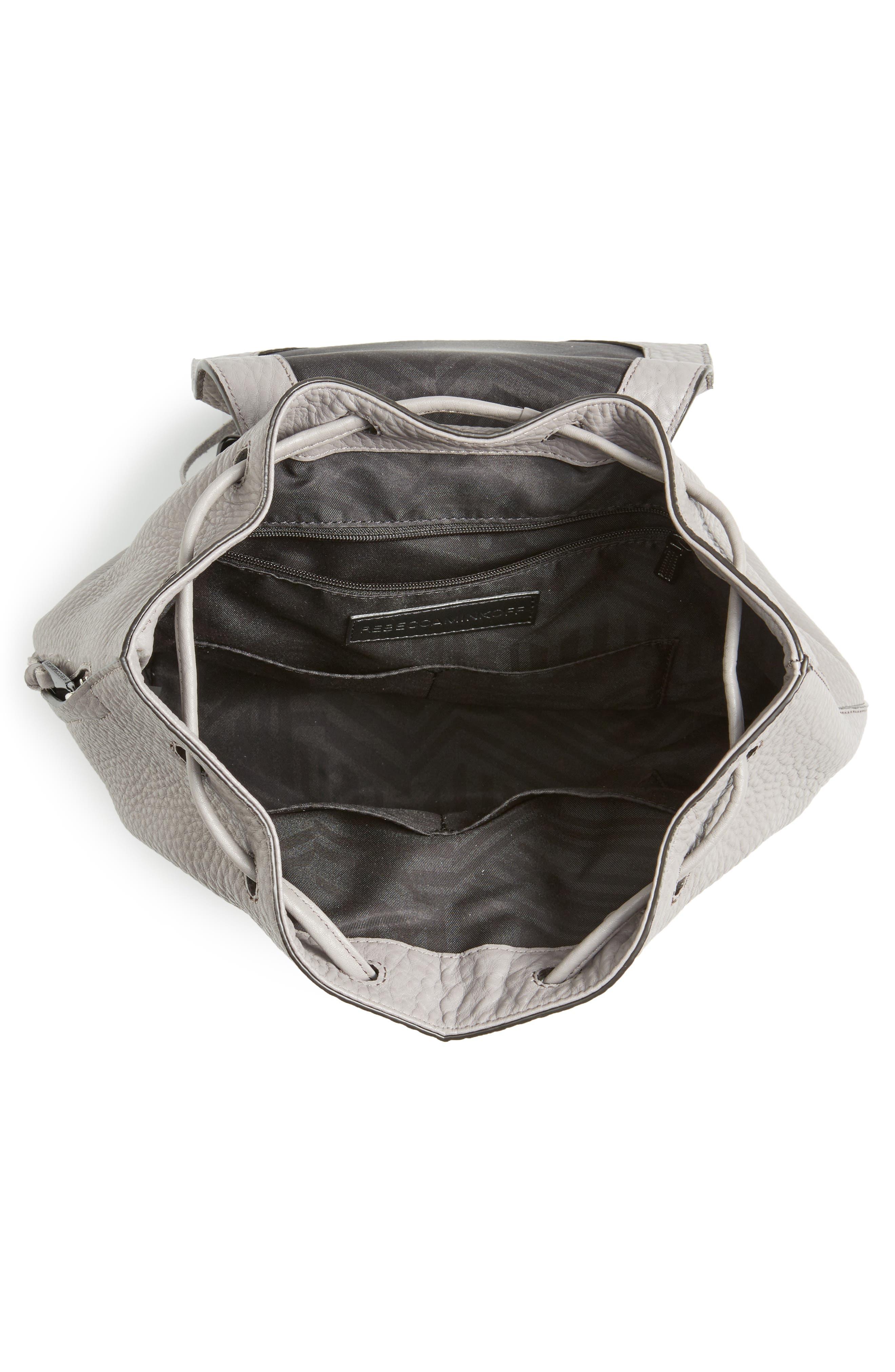 Alternate Image 4  - Rebecca Minkoff Medium Darren Leather Backpack
