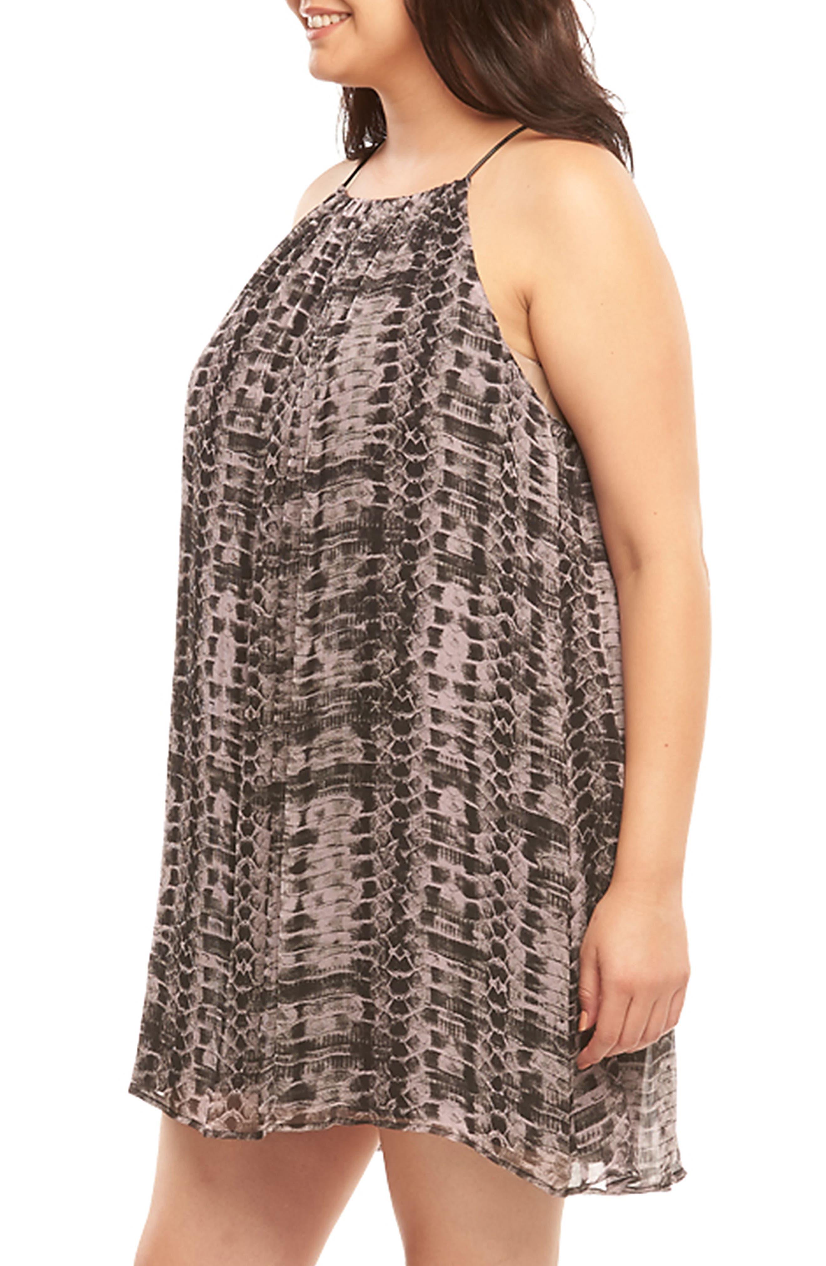 Alternate Image 3  - Tart Ellie Sleeveless Shift Dress (Plus Size)