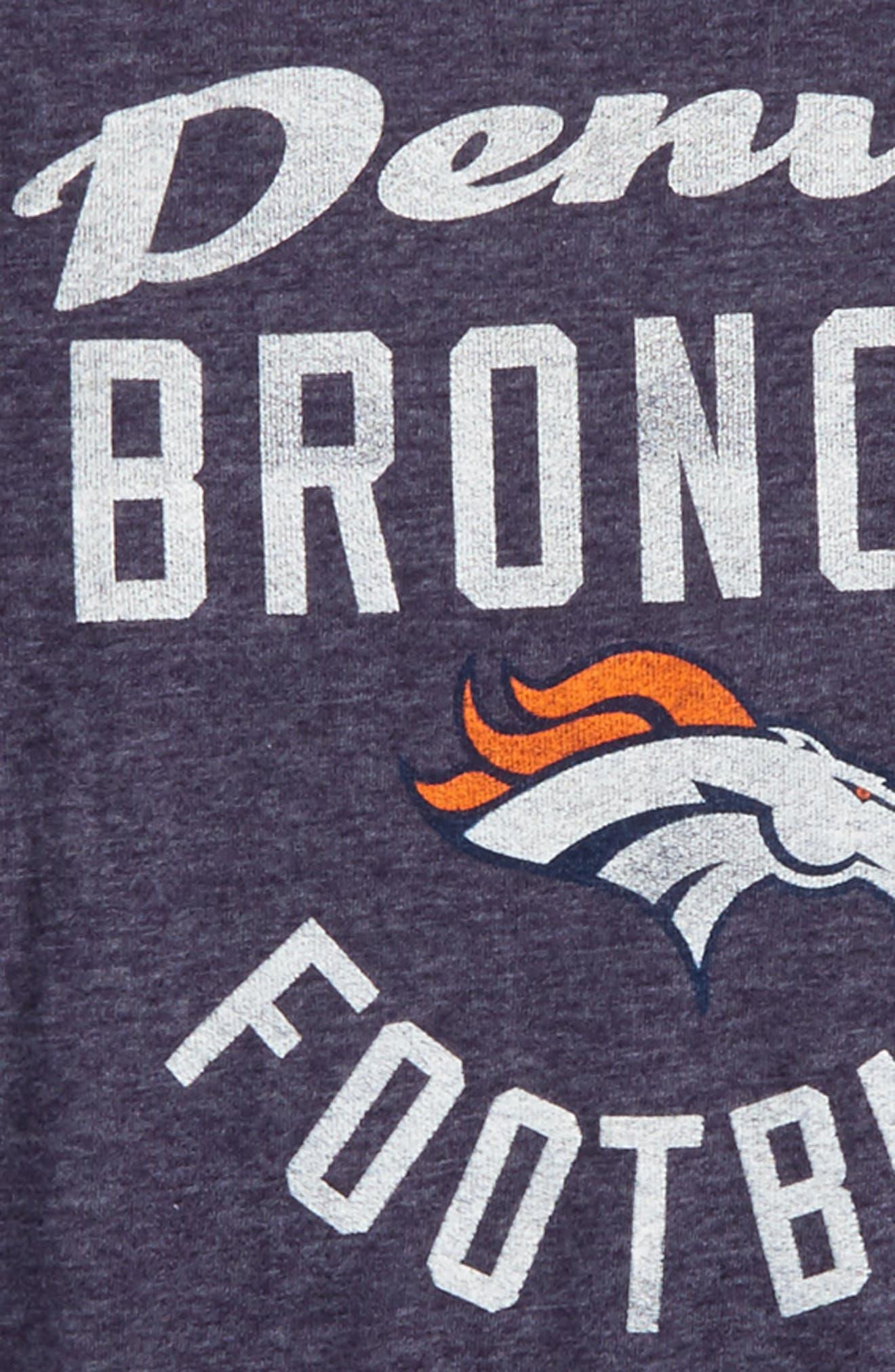 Alternate Image 2  - Outerstuff NFL Denver Broncos Distressed Logo T-Shirt (Big Boys)