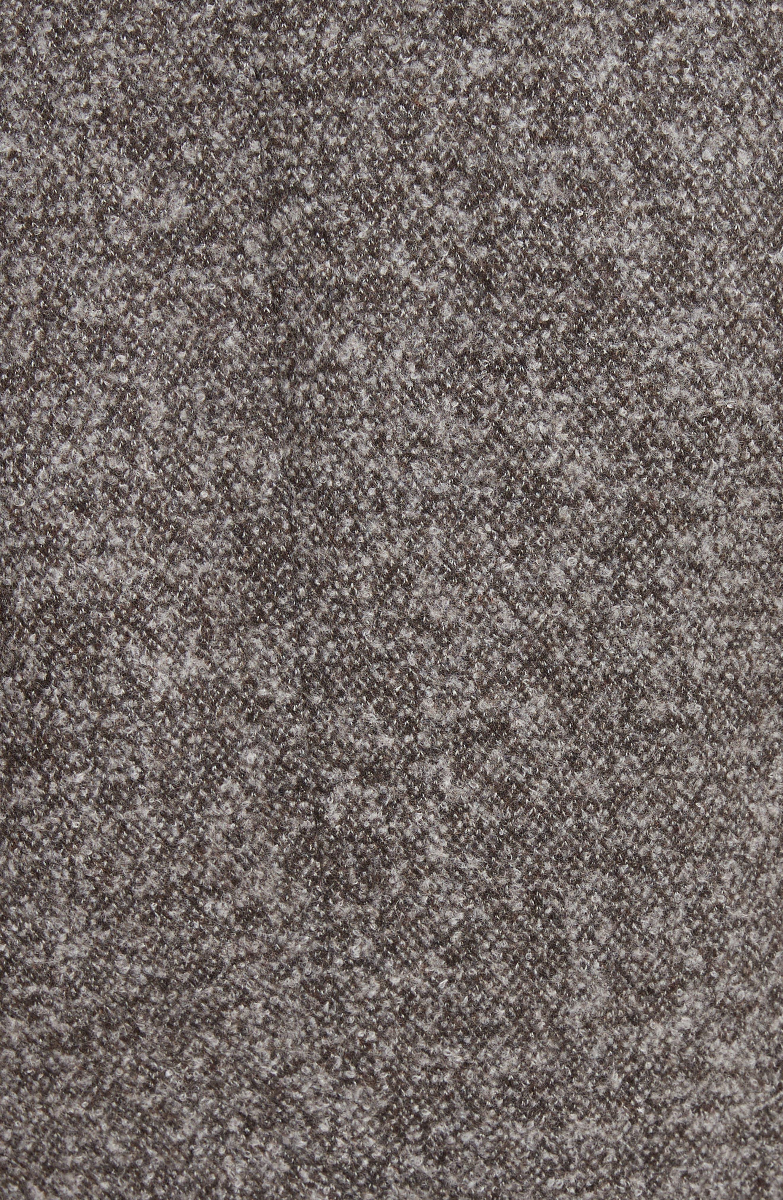 Jersey Galaxy Tweed Jacket,                             Alternate thumbnail 5, color,                             Grey