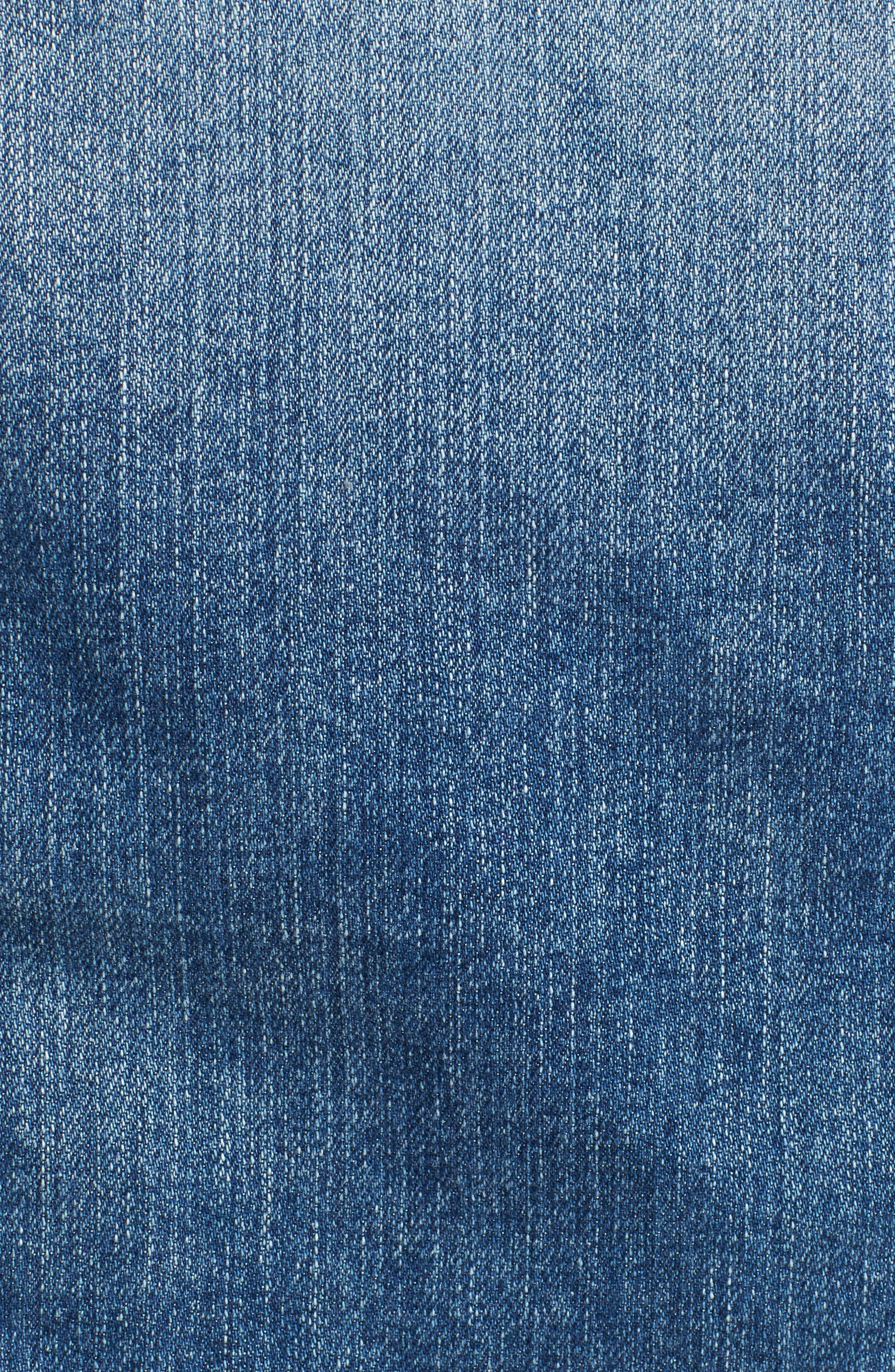 'Mya' Denim Jacket,                             Alternate thumbnail 6, color,                             10 Years Magnetic Blue