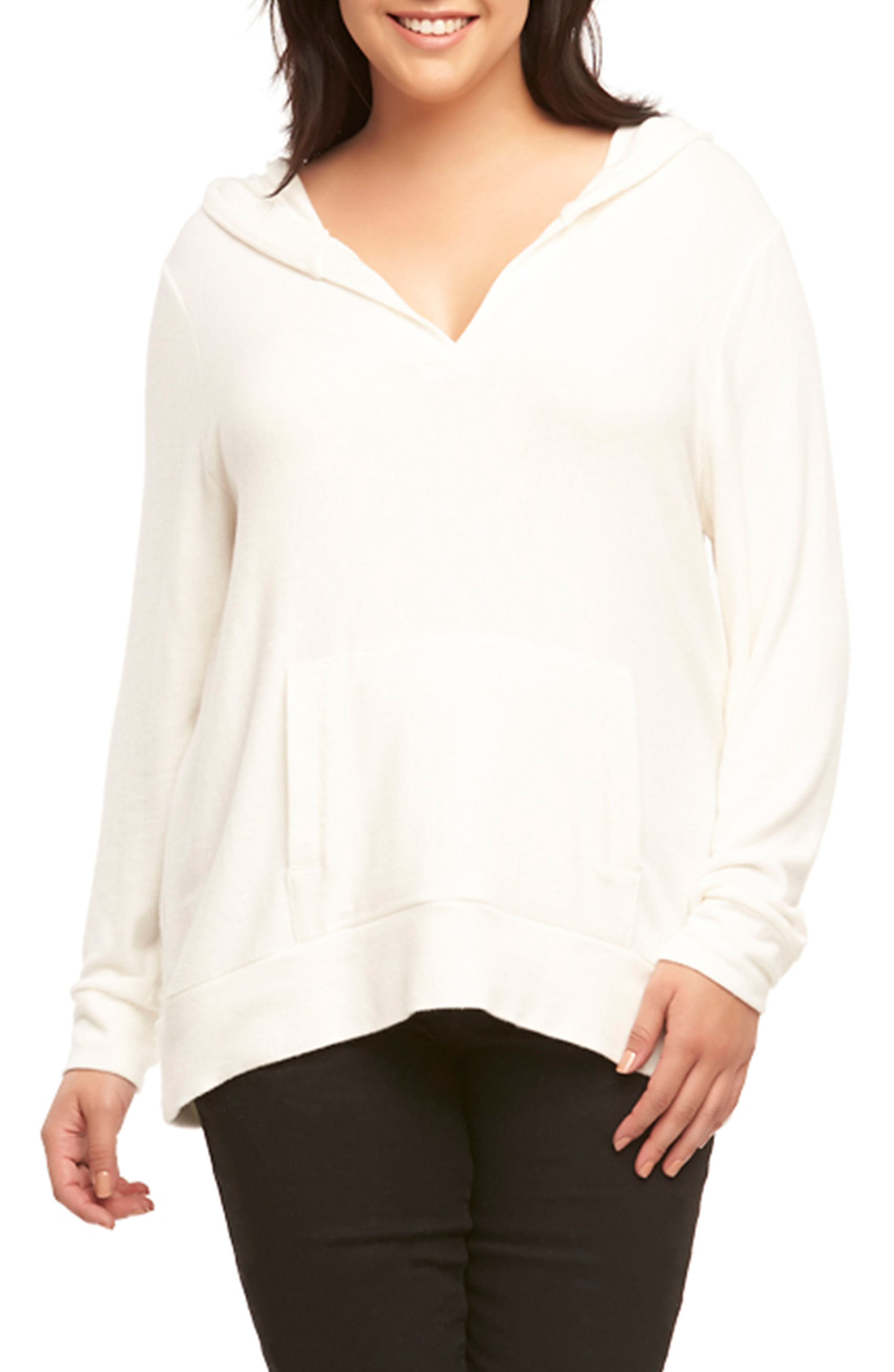 Conor Hoodie,                             Main thumbnail 1, color,                             White