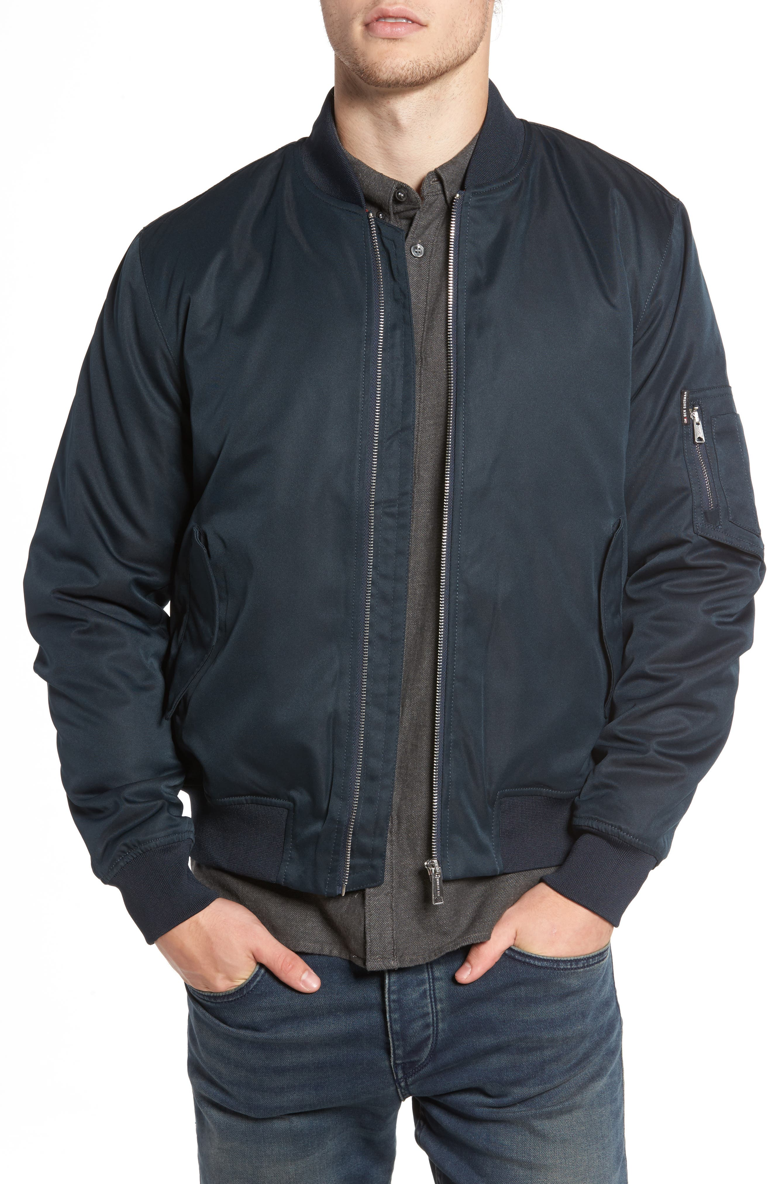 Alternate Image 1 Selected - Ben Sherman MA1 Bomber Jacket