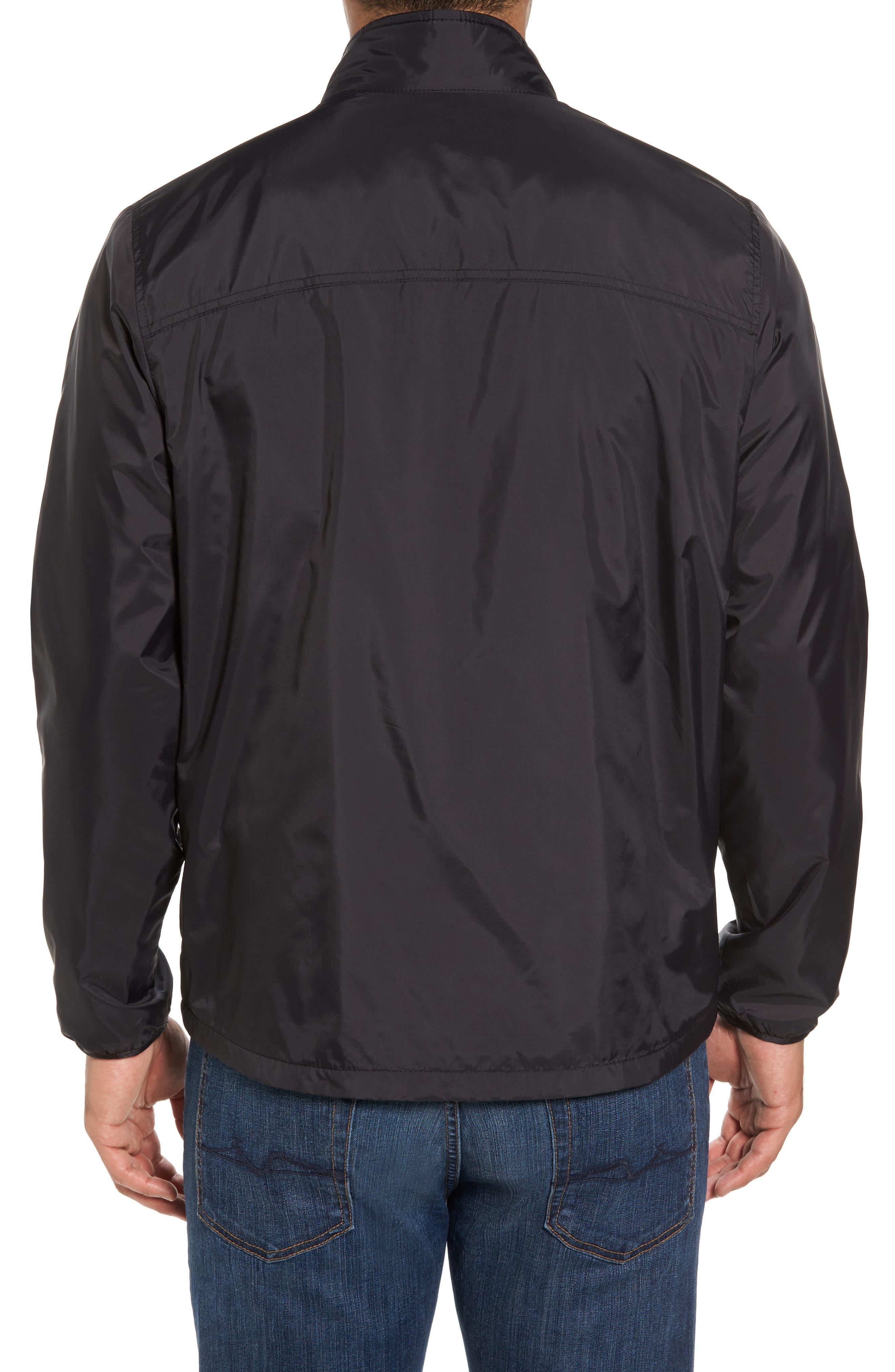 Nine Iron Water-Repellent Jacket,                             Alternate thumbnail 2, color,                             Black