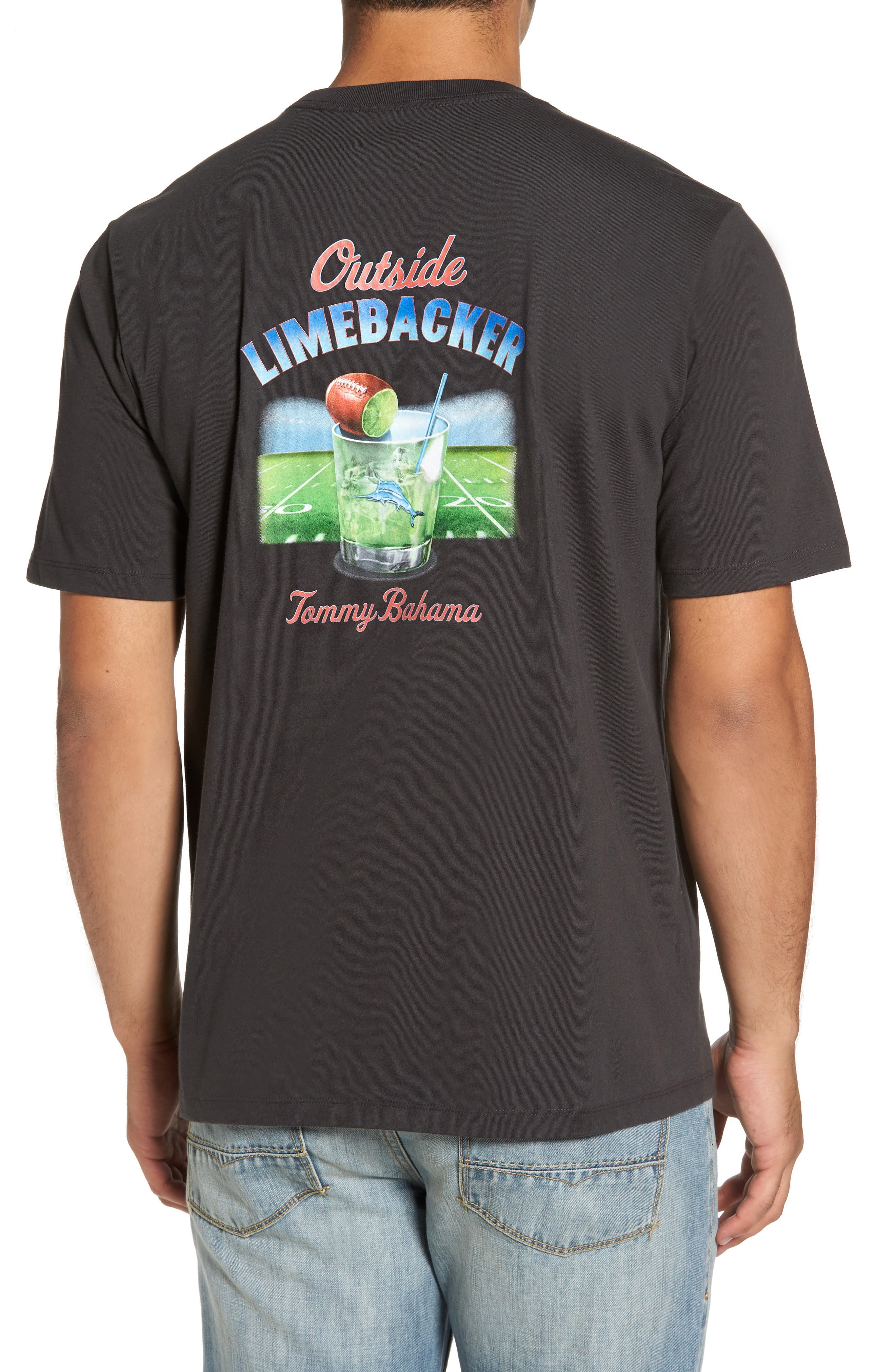 Alternate Image 2  - Tommy Bahama Outside Limebacker T-Shirt