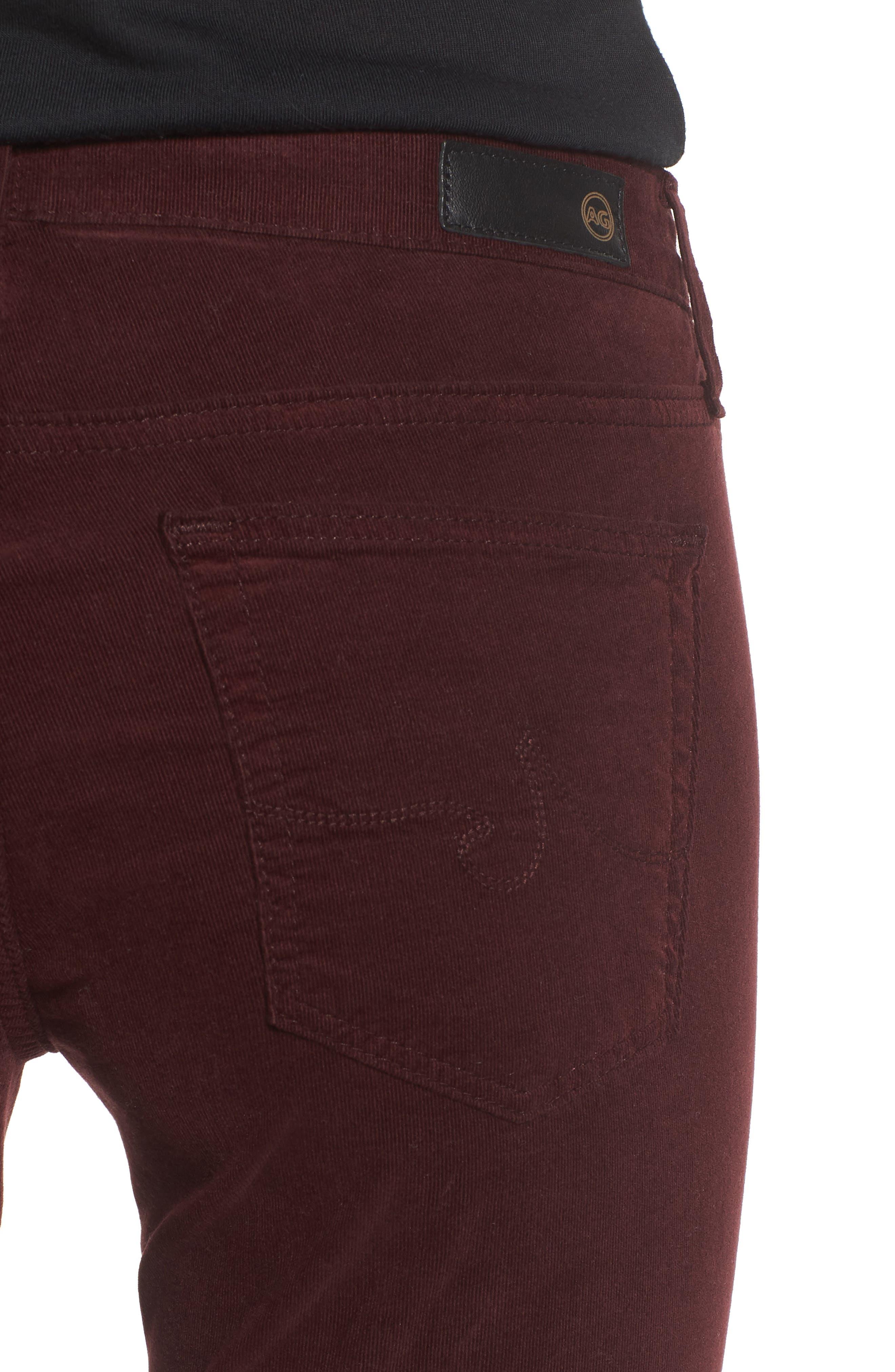 Alternate Image 4  - AG The Legging Super Skinny Corduroy Pants