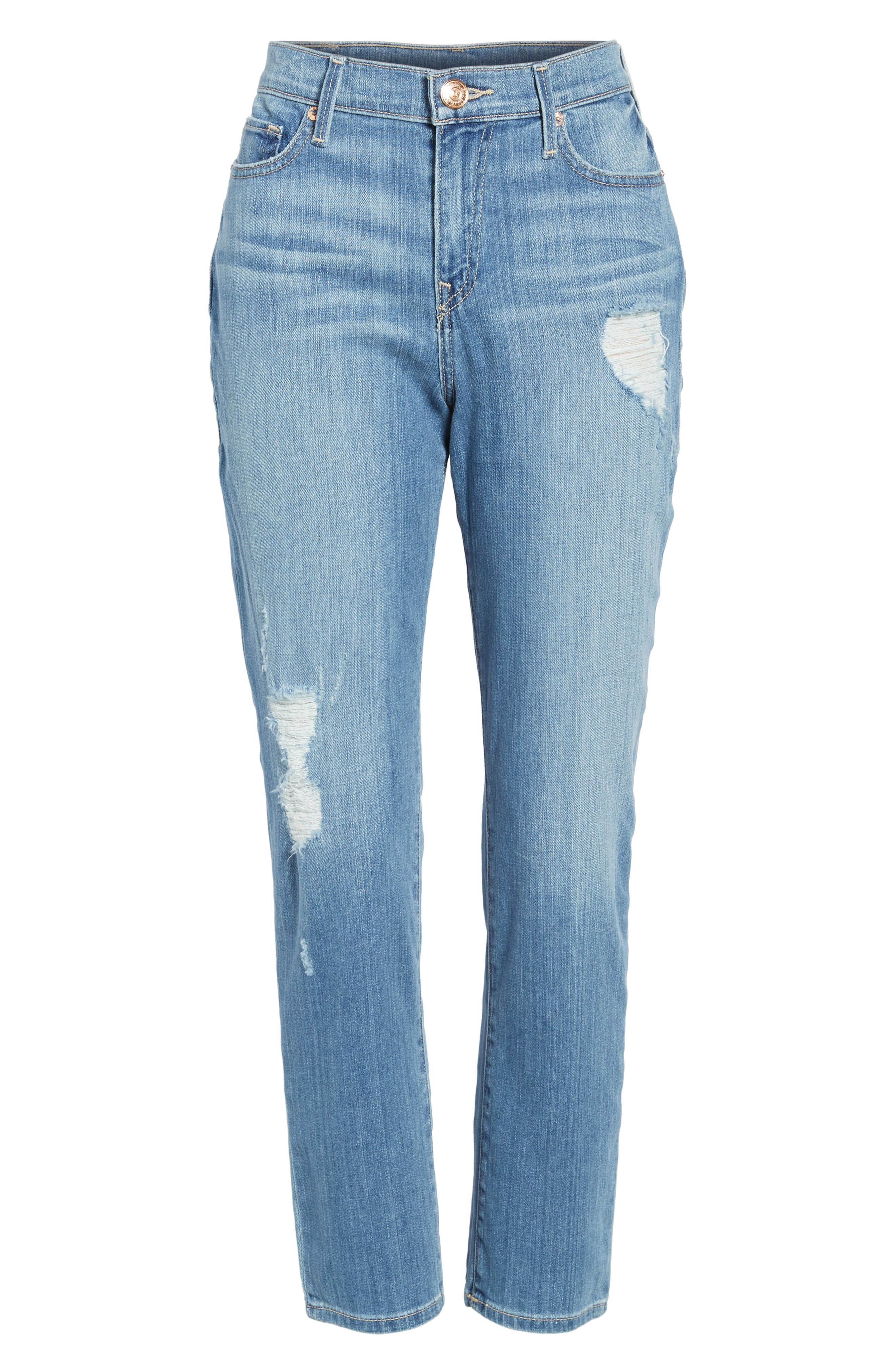 Colette High Waist Tapered Skinny Jeans,                             Main thumbnail 1, color,                             Waterfall Ridge