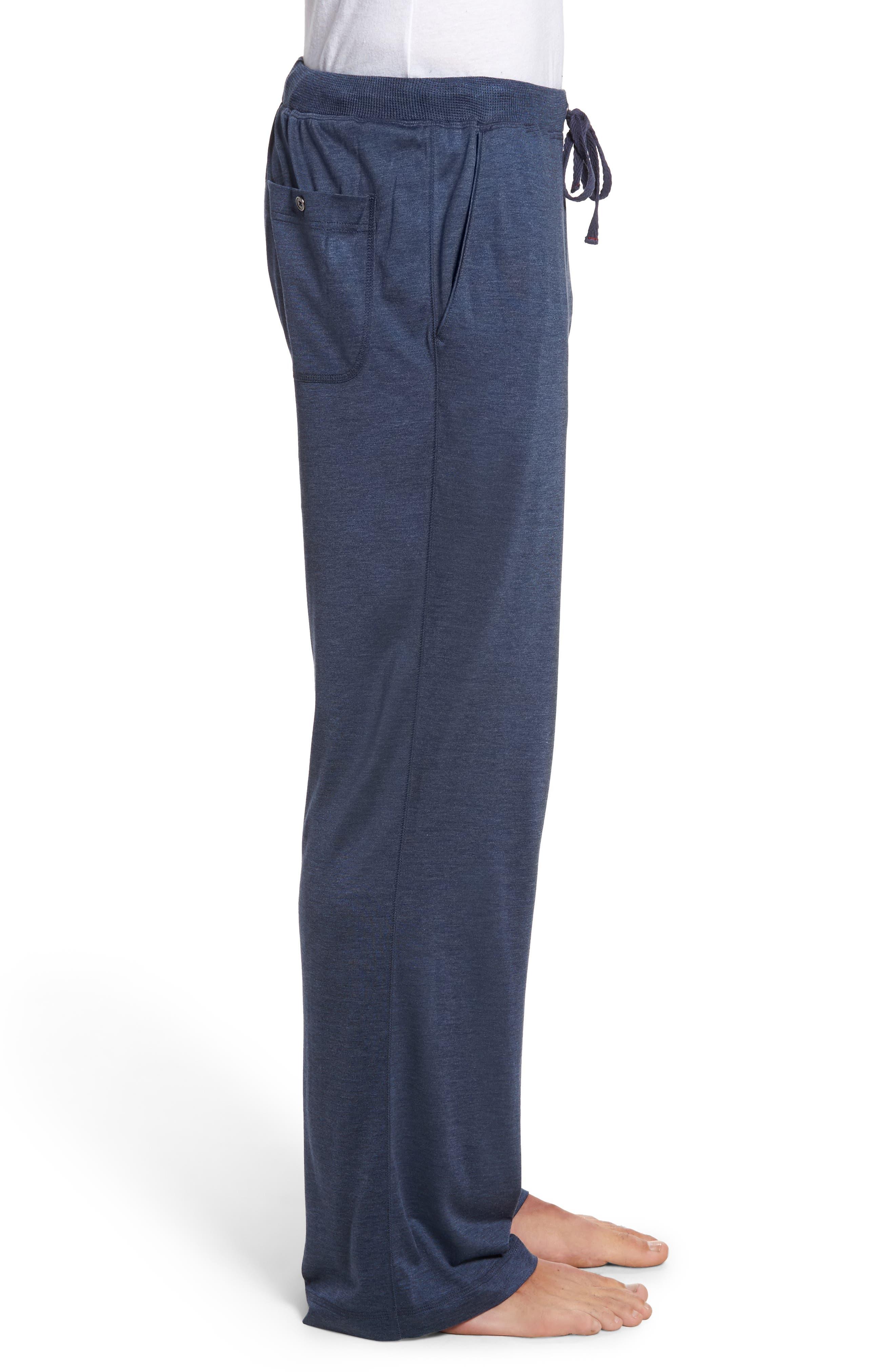 Alternate Image 3  - Daniel Buchler Silk & Cotton Lounge Pants