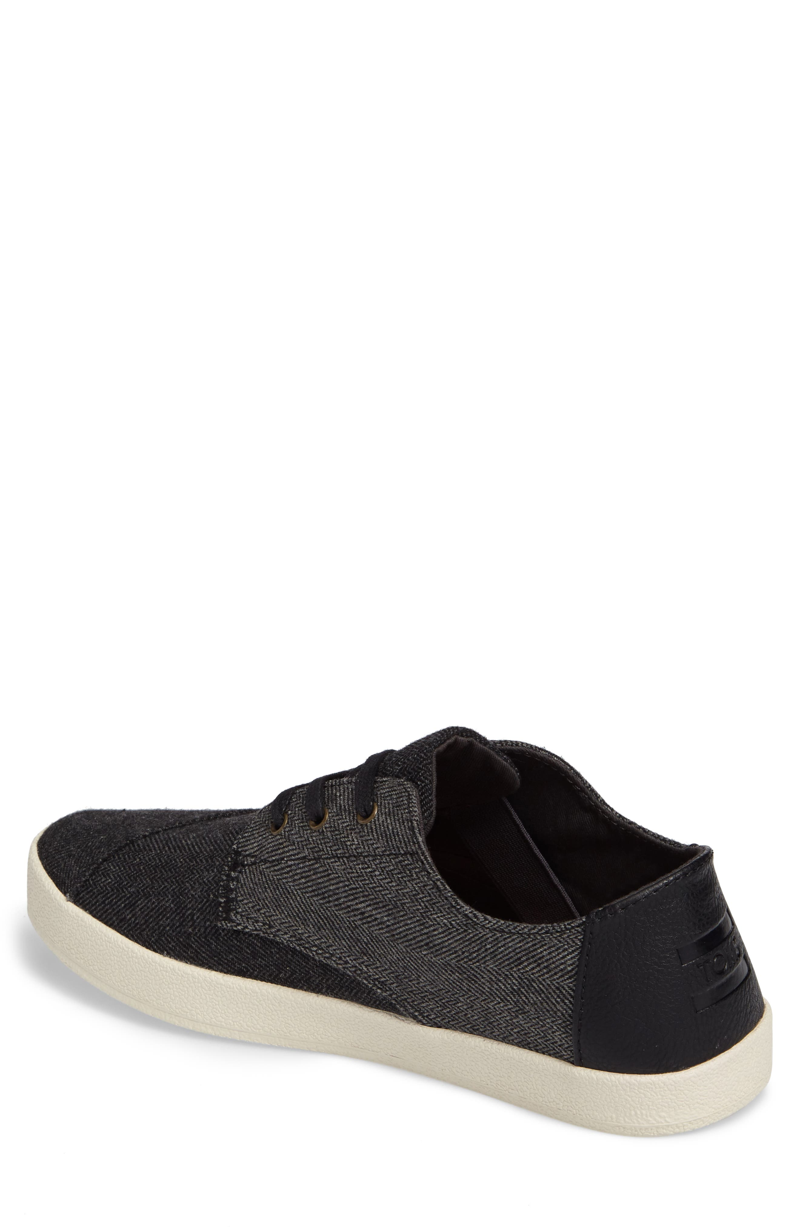 'Paseo' Sneaker,                             Alternate thumbnail 2, color,                             Black/ Grey