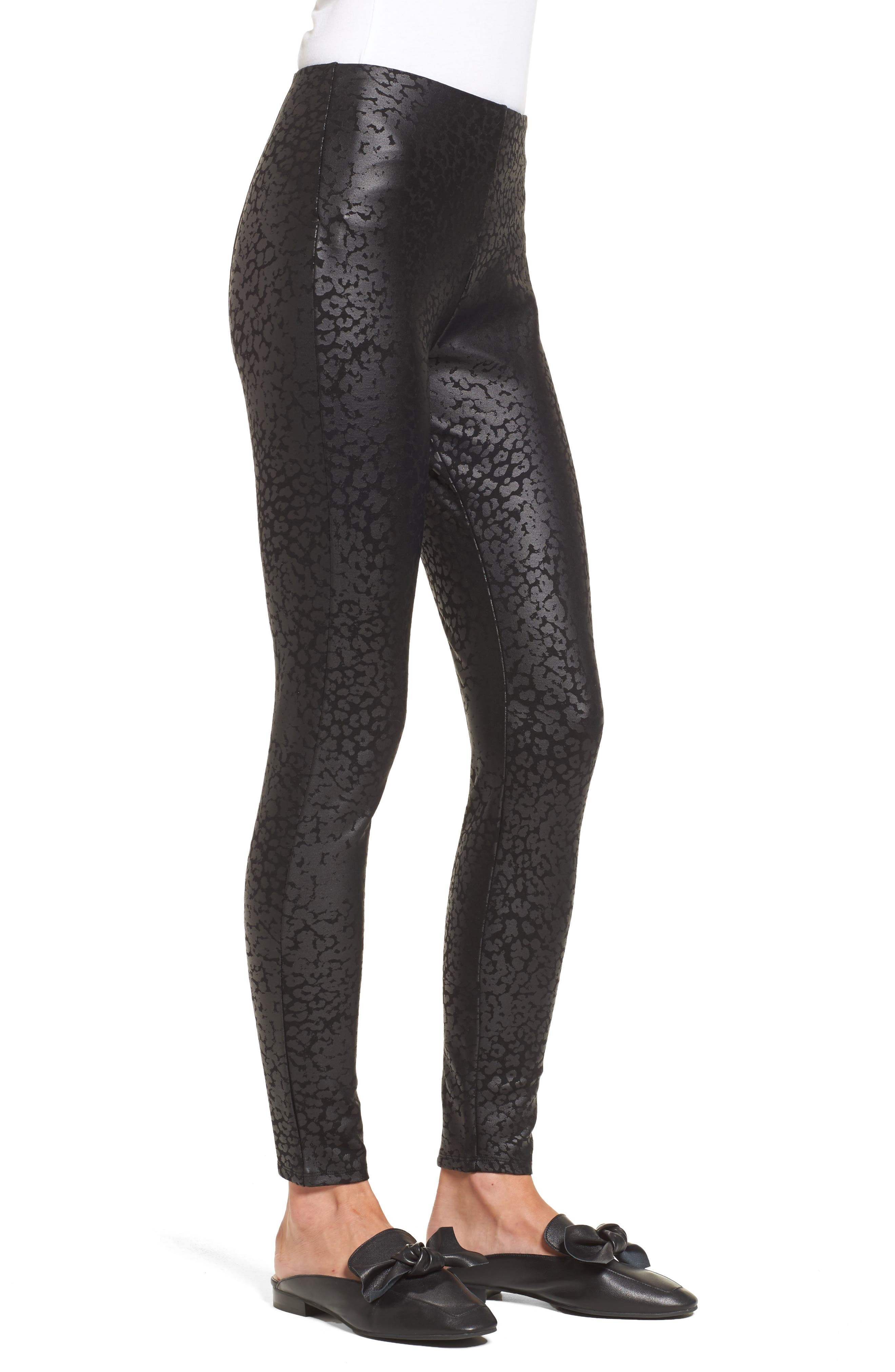 Willa Leggings,                             Alternate thumbnail 2, color,                             Liquid Leopard