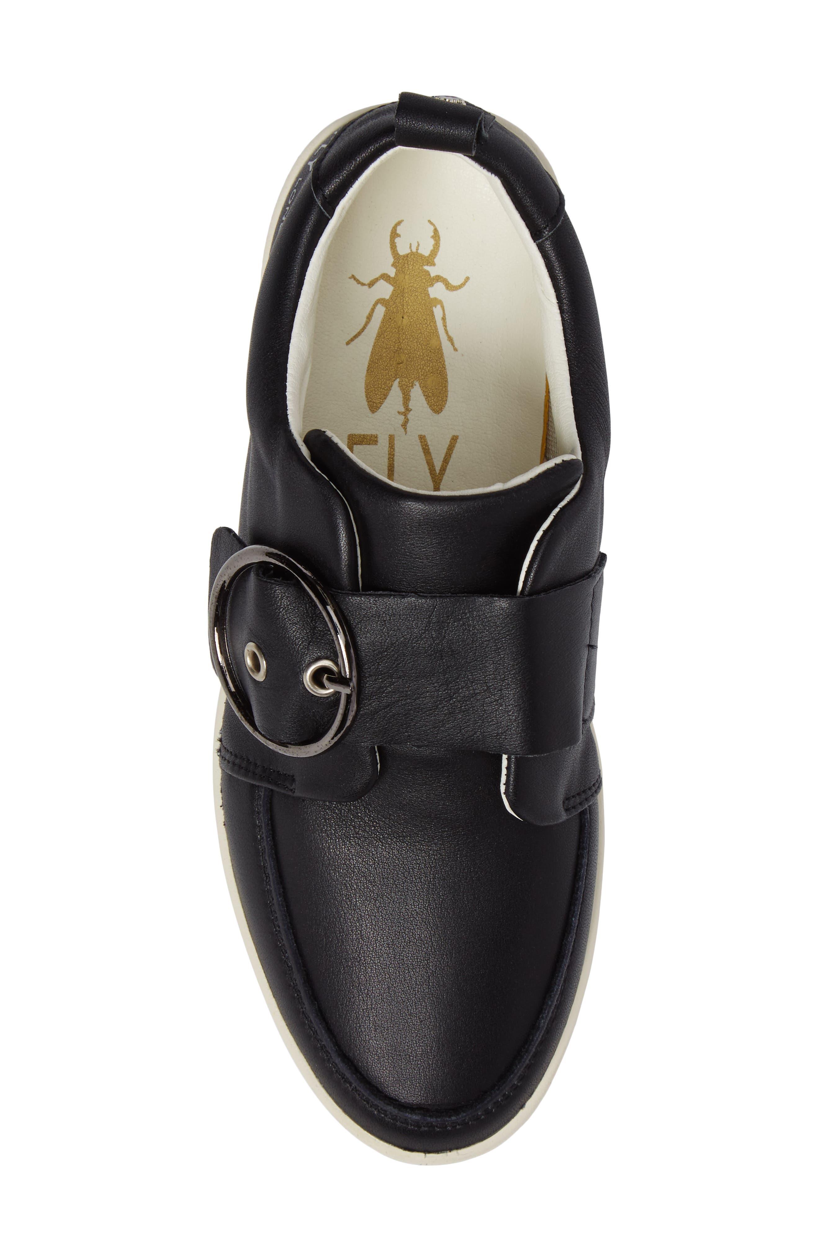 Alternate Image 5  - Fly London Mice Buckle Sneaker (Women)