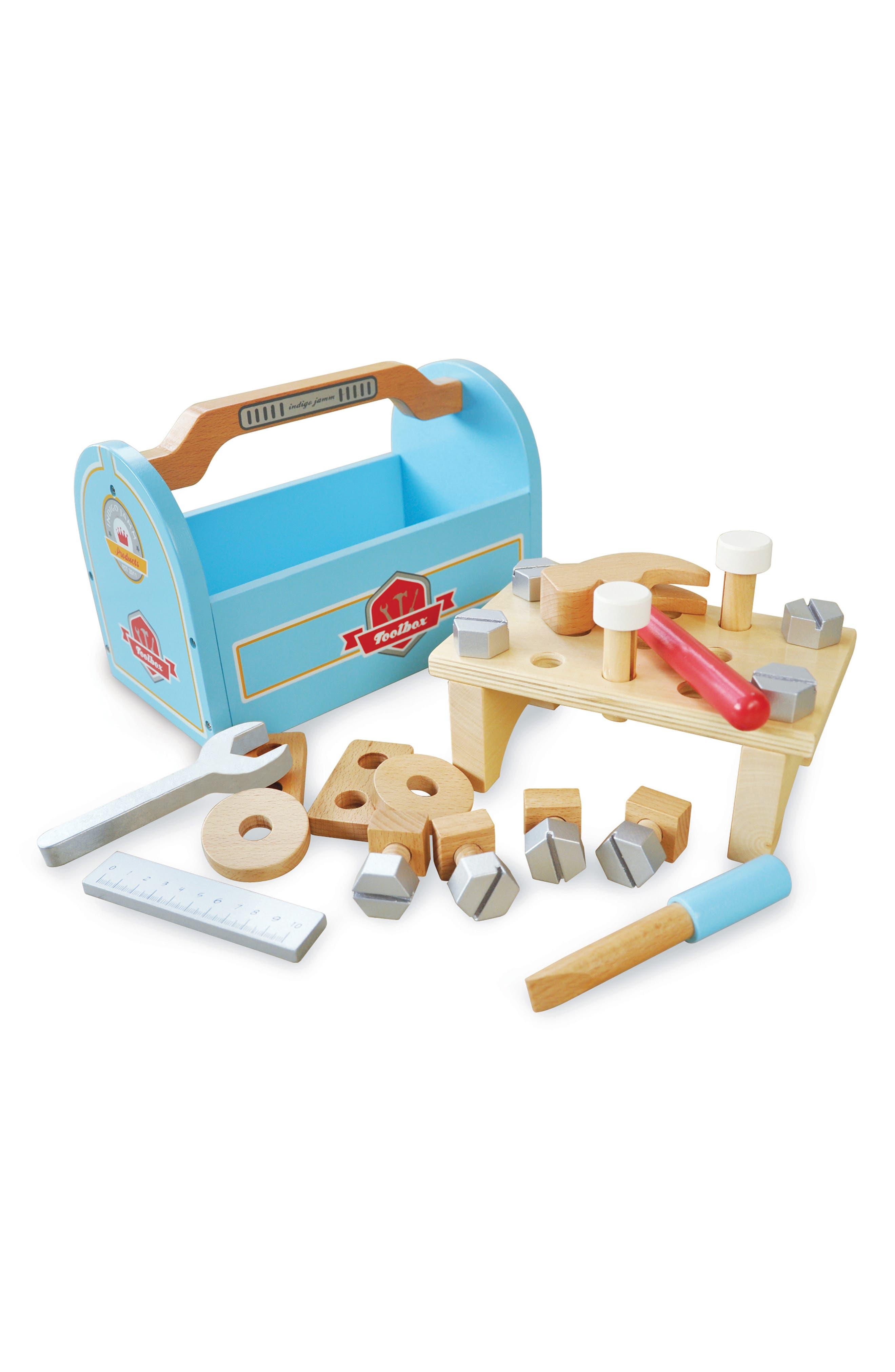 Indigo Jamm Little Carpenters Toolbox