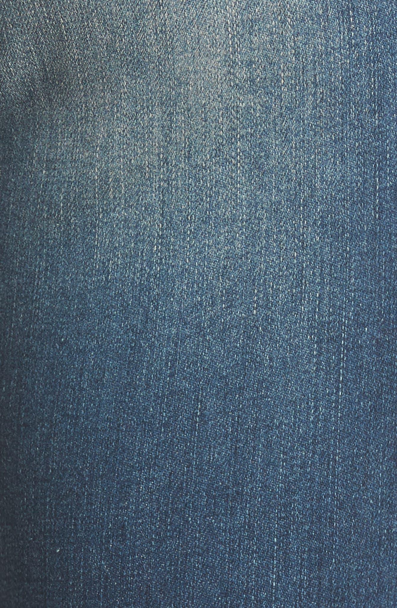 Alternate Image 5  - AG The Legging Super Skinny Jeans (12 Years Abide)