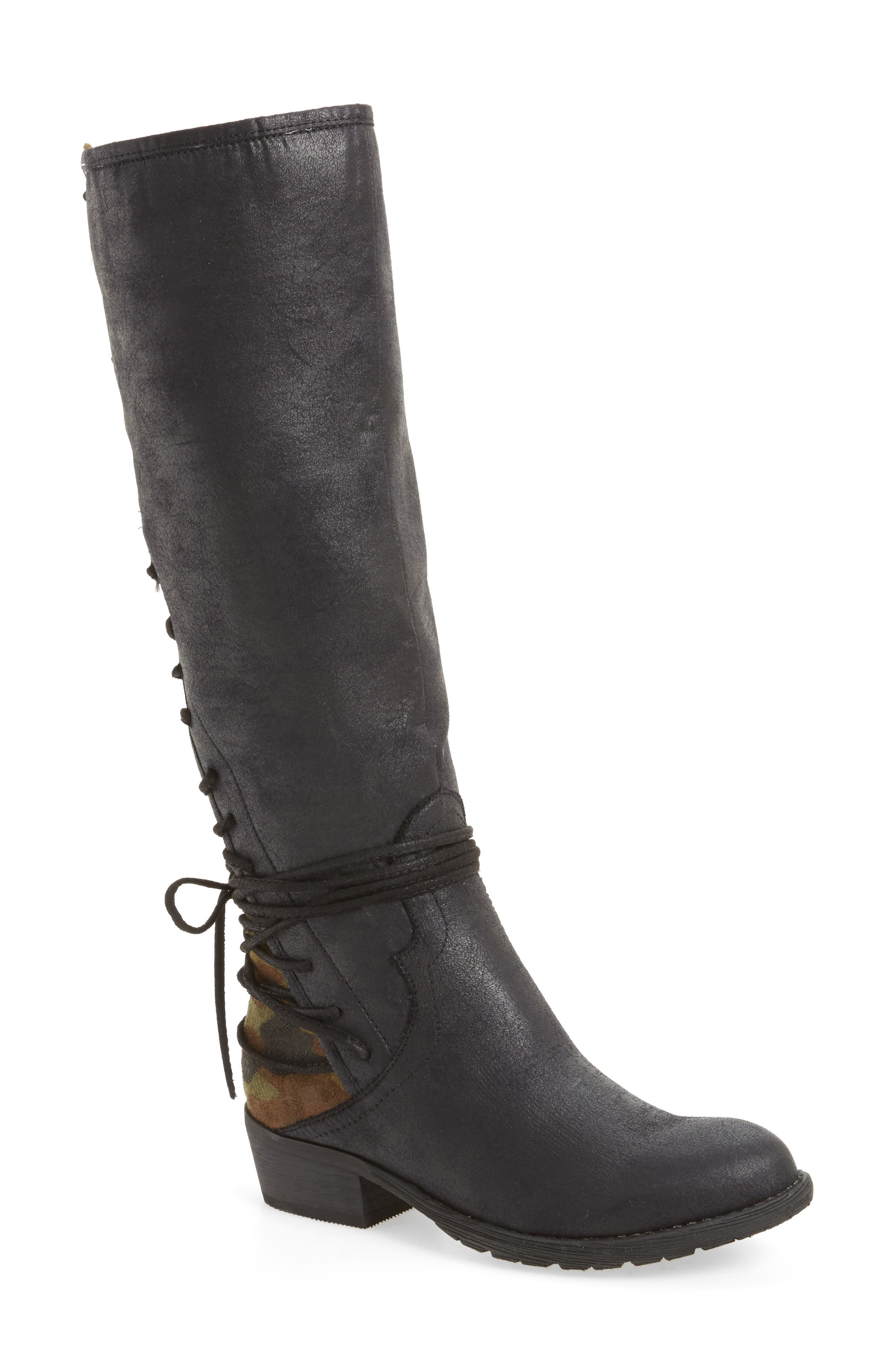 Alternate Image 1 Selected - Very Volatile Marcel Corseted Knee High Boot (Women)