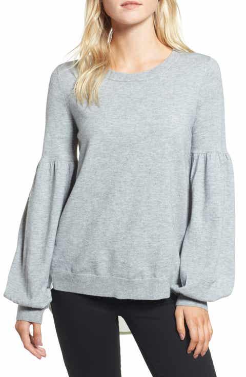 Chelsea28 Woven Back Sweater