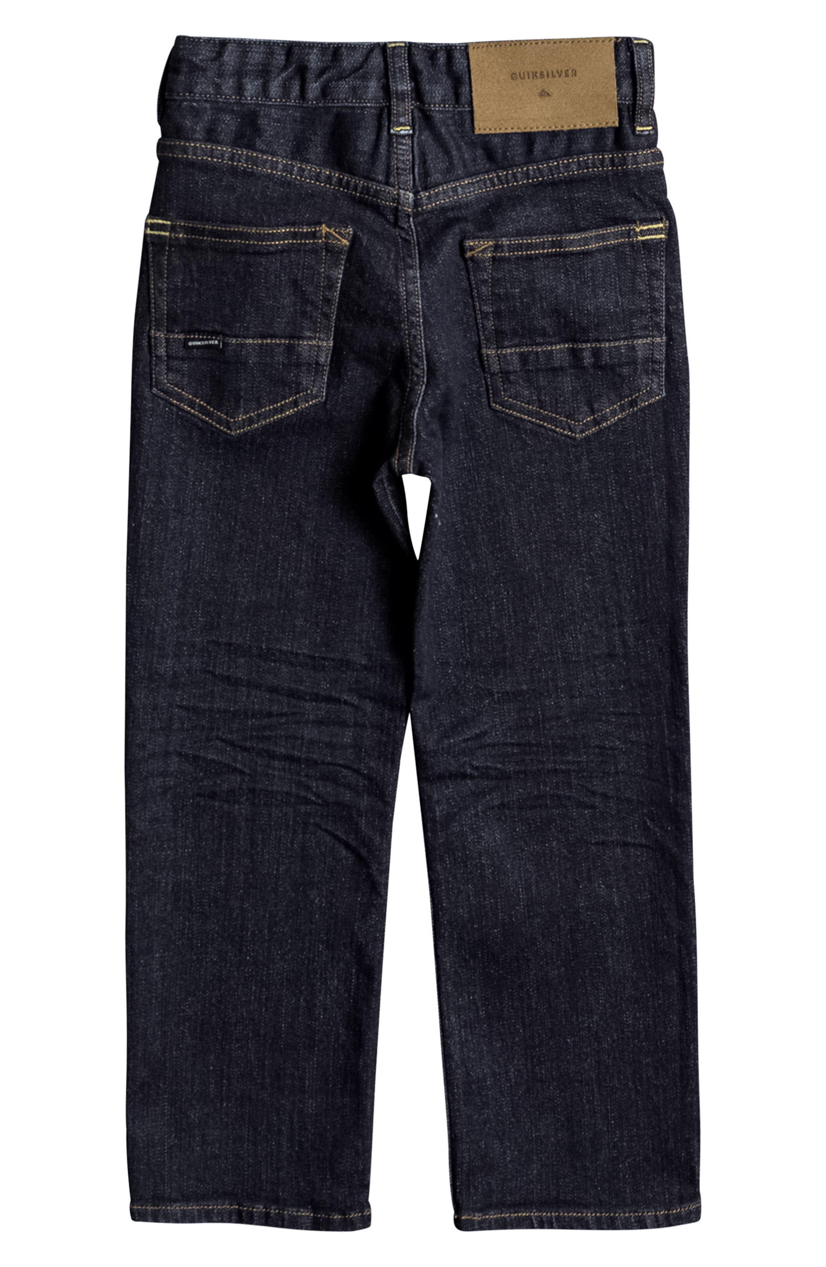 Alternate Image 2  - Quiksilver Sequel Rinse Jeans (Toddler Boys & Little Boys)