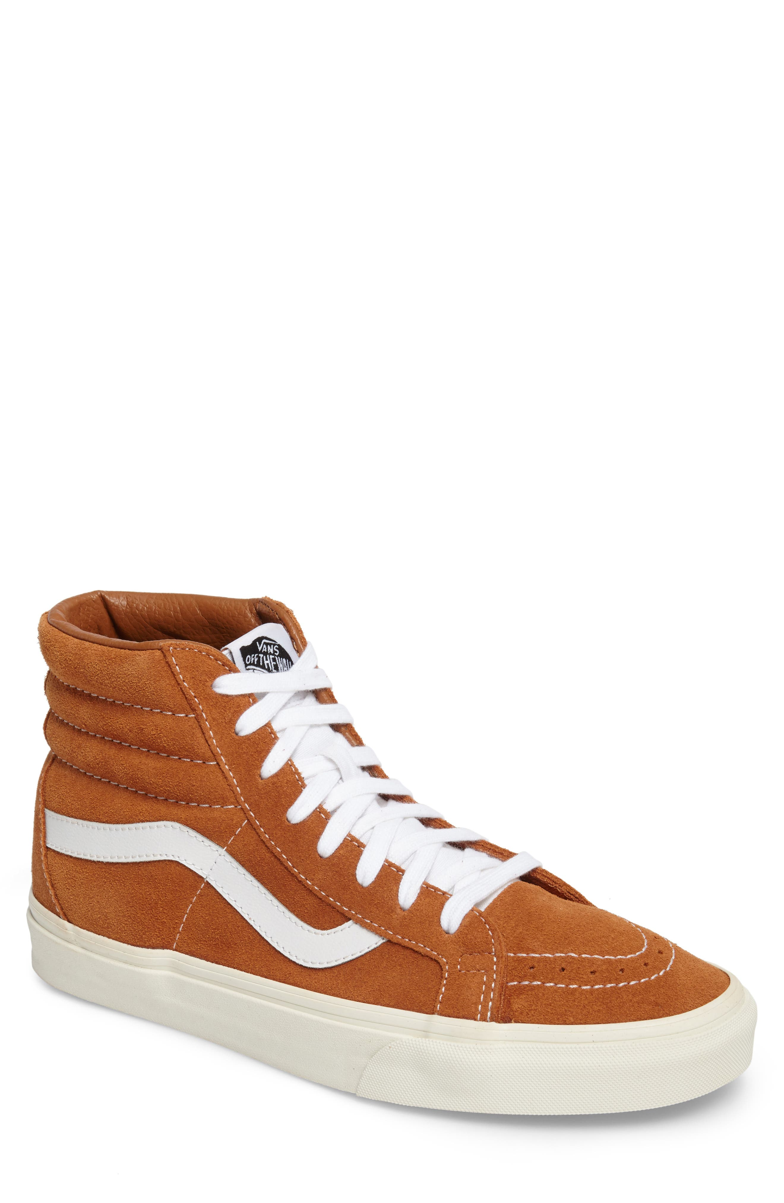Sk8-Hi Reissue Sneaker,                             Main thumbnail 1, color,                             Glazed Ginger Suede