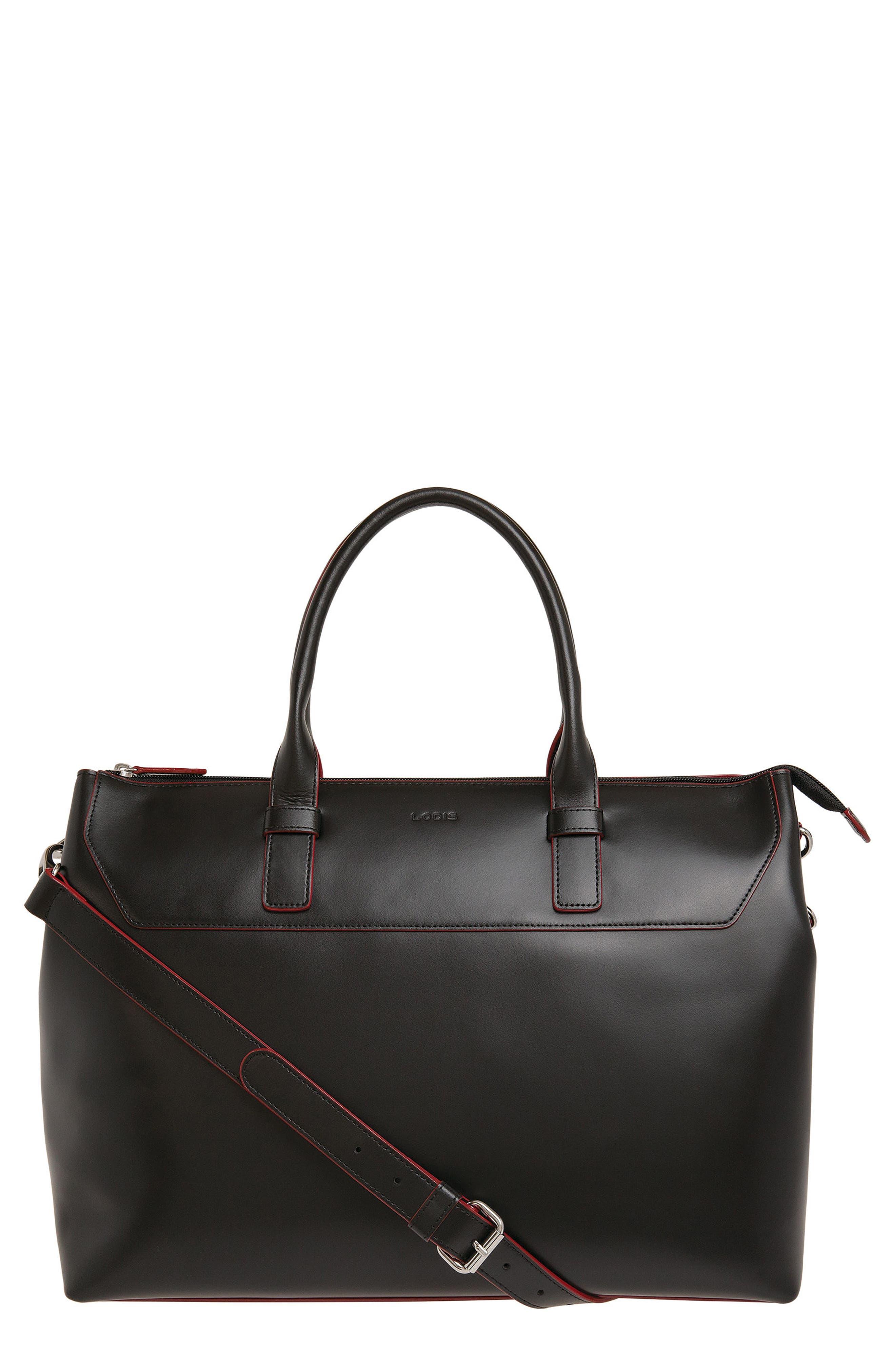 Main Image - Lodis Audrey Wilhelmina Leather Work Satchel