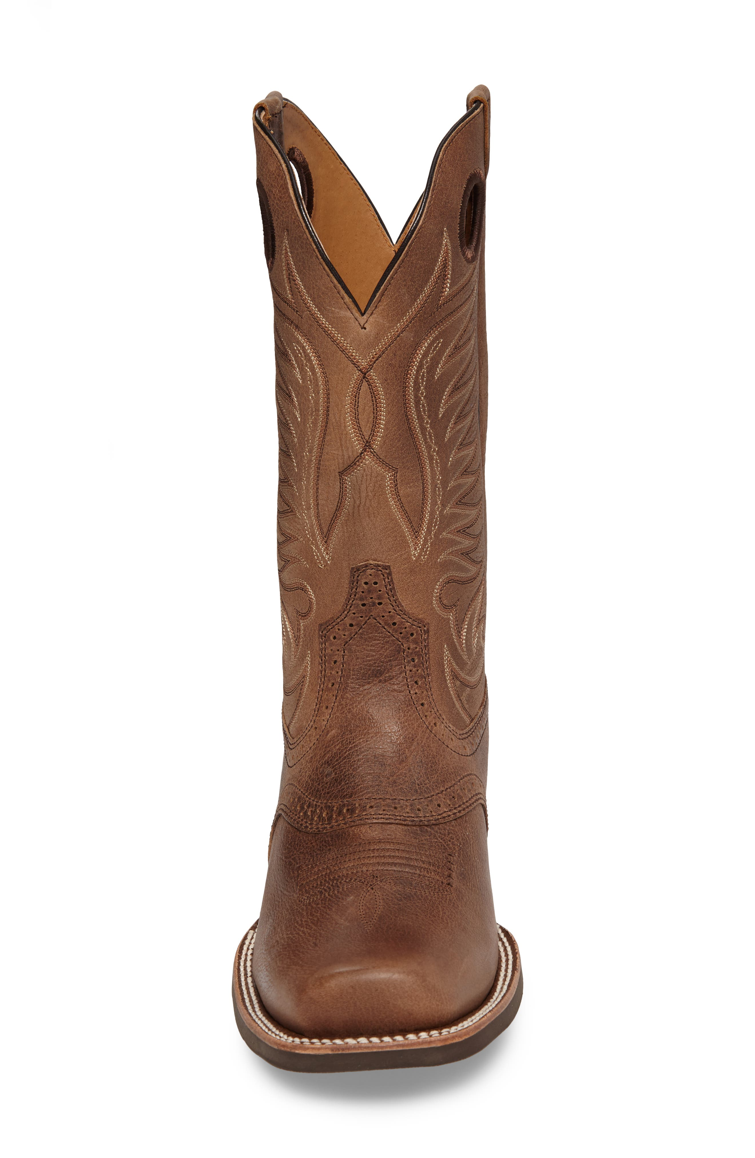 Heritage Hot Shot Cowboy Boot,                             Alternate thumbnail 4, color,                             Brown