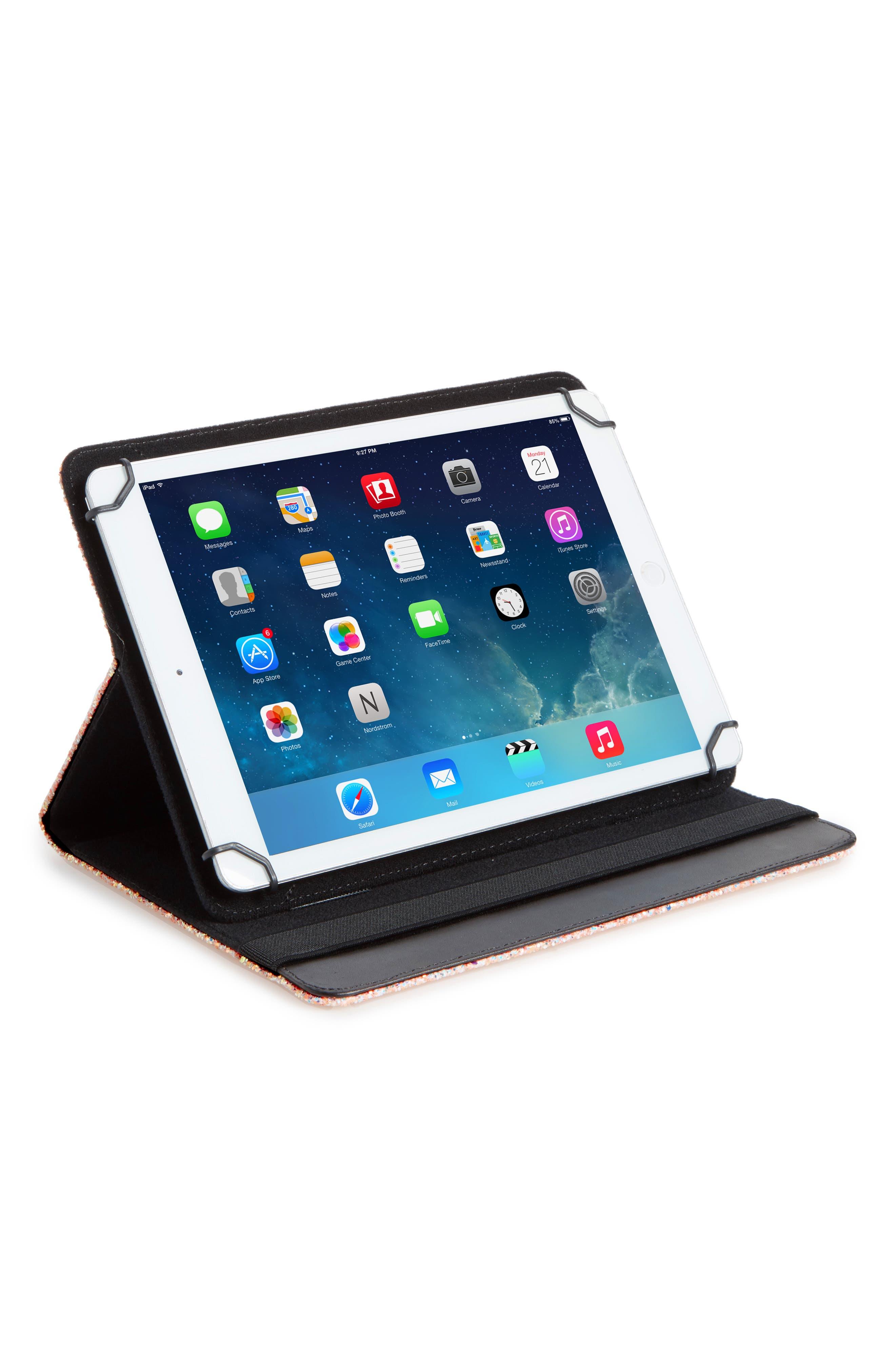 Alternate Image 2  - Skinny Dip Gold Rush iPad Air Folio