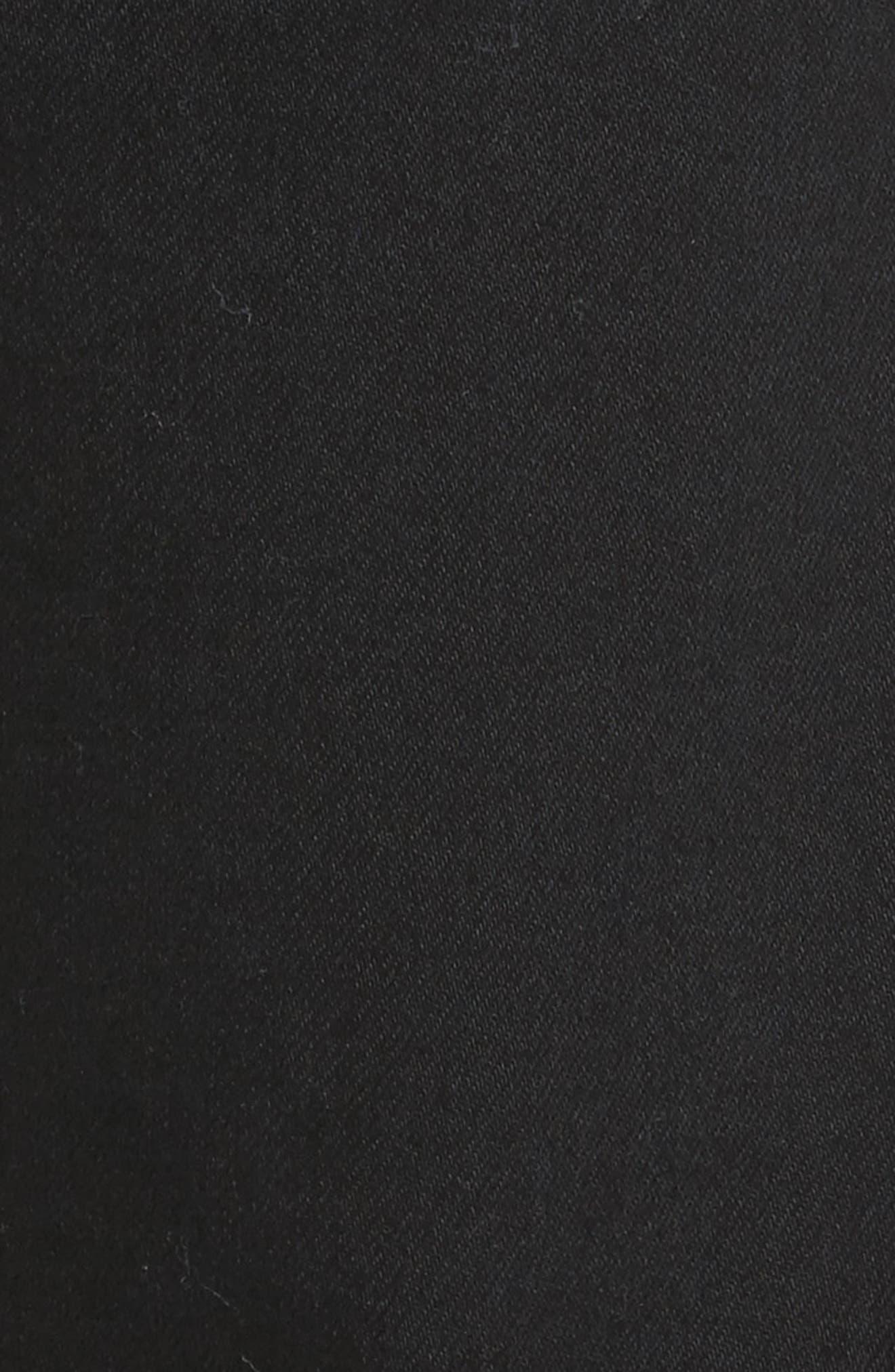 Alternate Image 5  - Scotch & Soda Ralston Slim Straight Leg Jeans (Stay Black)