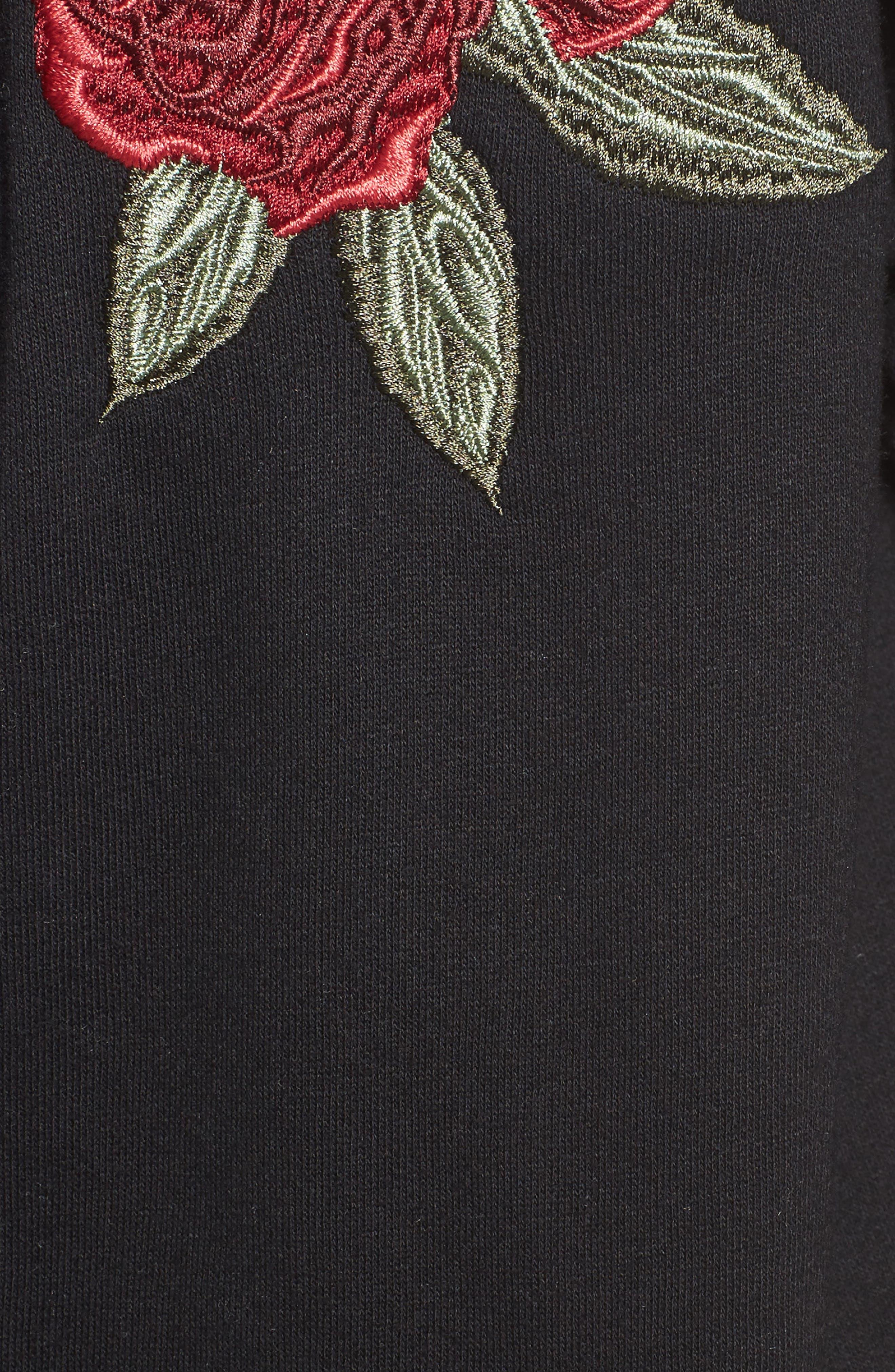 Alternate Image 5  - BRUNETTE the Label Blonde Embroidered Zip Hoodie