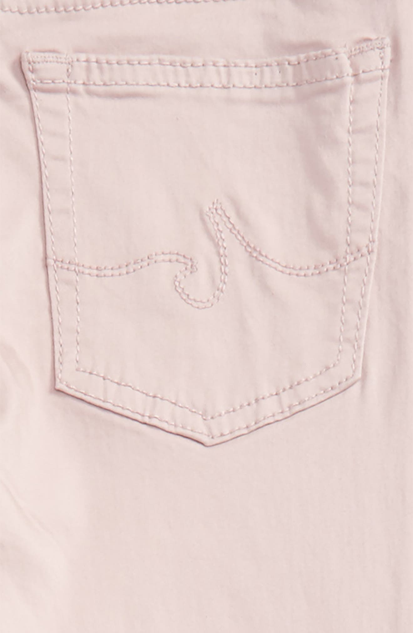 Twiggy Ankle Skinny Jeans,                             Alternate thumbnail 3, color,                             Light Pink