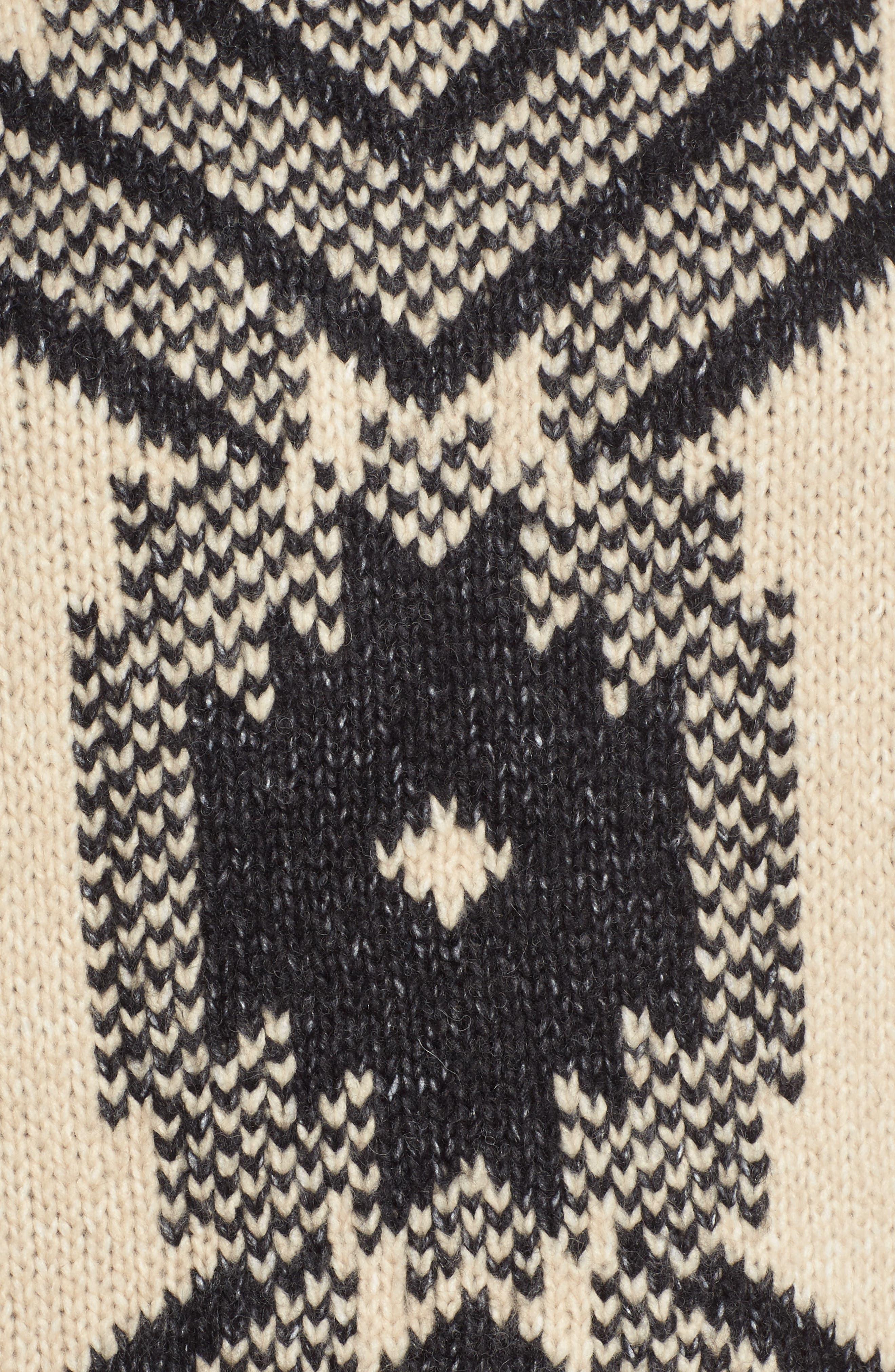 Fringe Sweater,                             Alternate thumbnail 5, color,                             Husked Tan