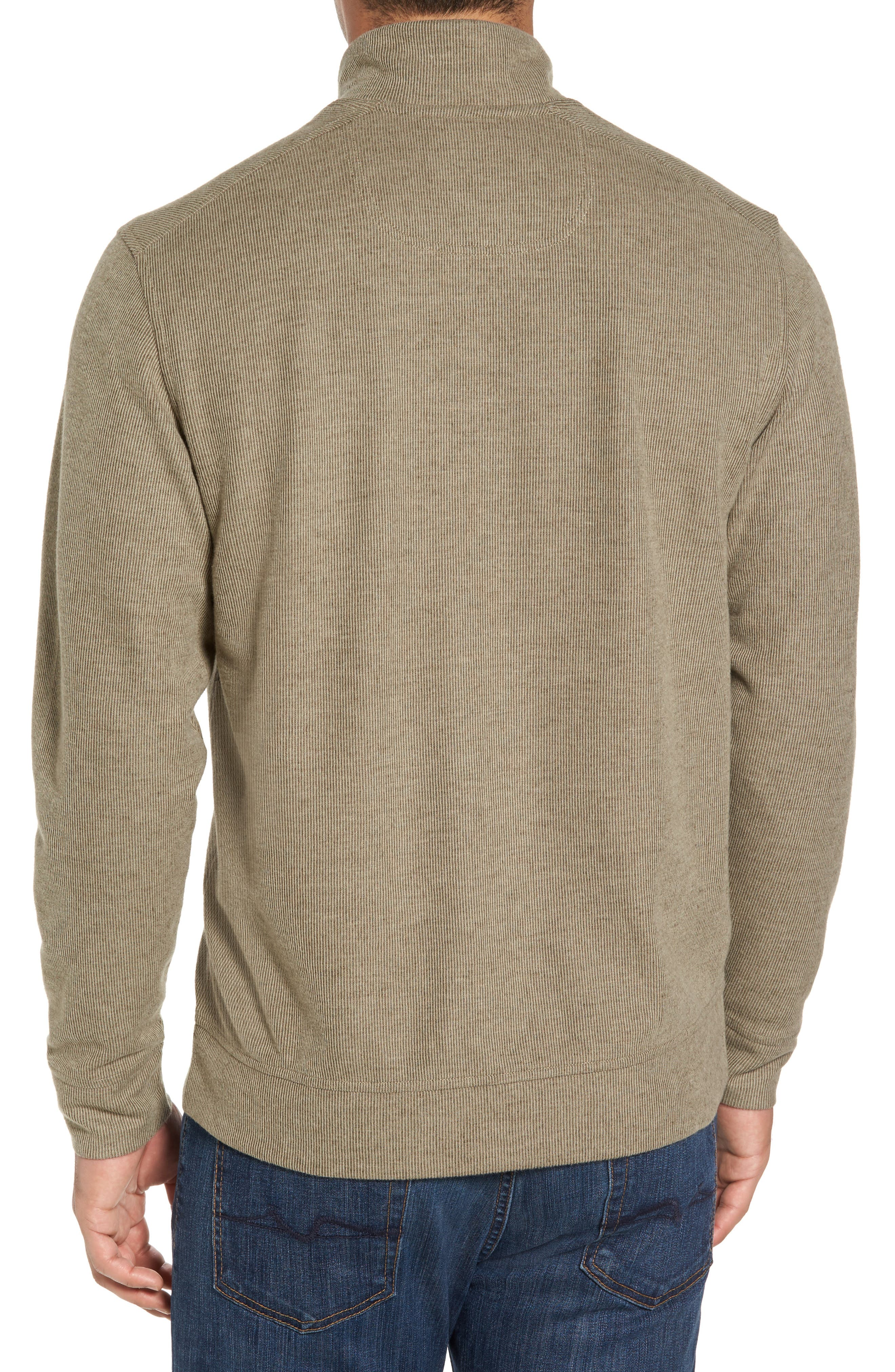 Cold Springs Snap Mock Neck Sweater,                             Alternate thumbnail 2, color,                             Mocha