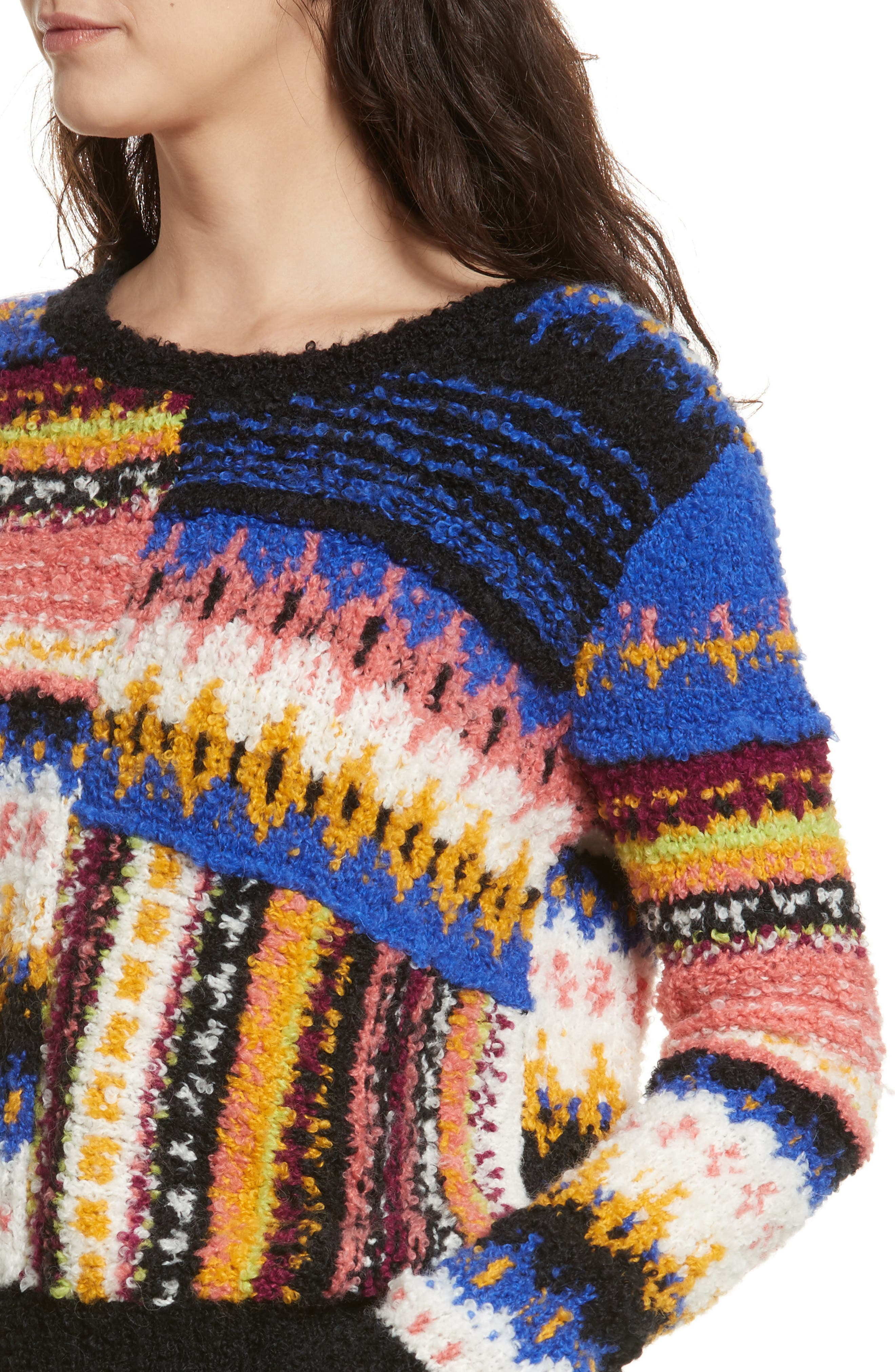 Best Day Ever Sweater,                             Alternate thumbnail 4, color,                             Multi