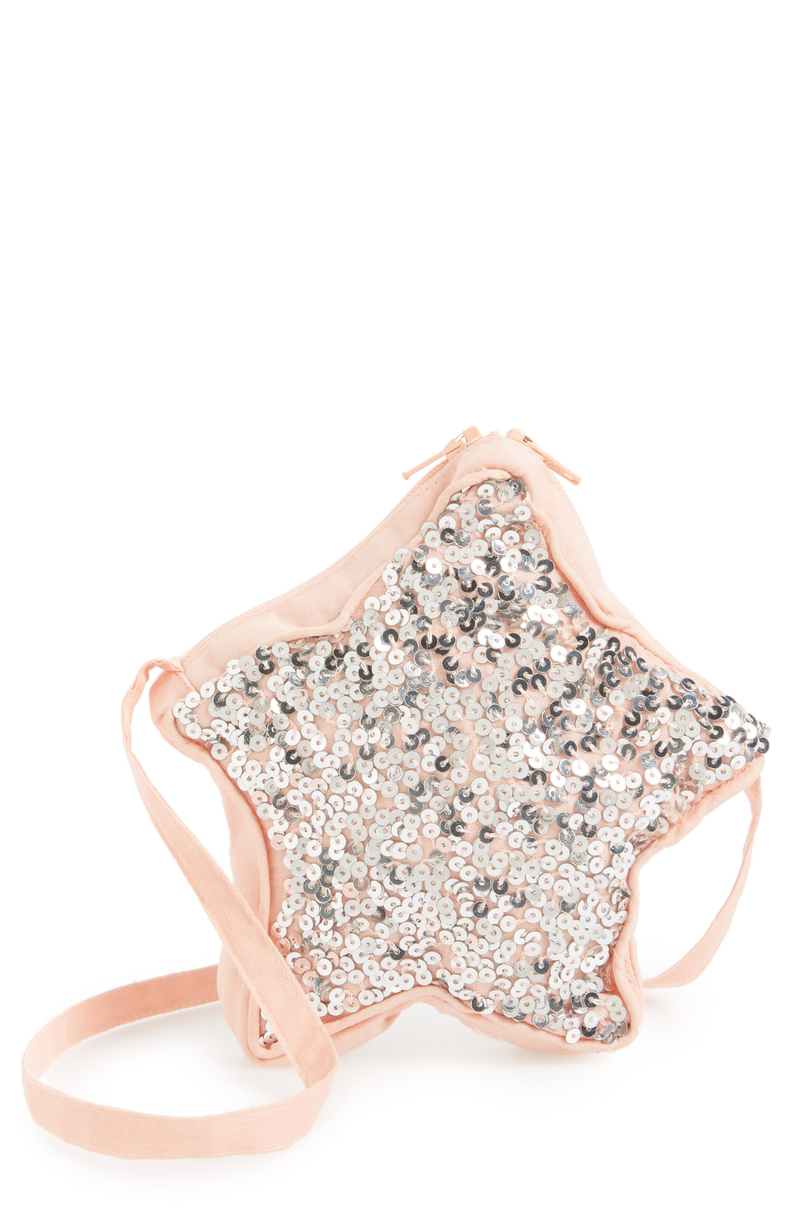 Main Image - Wild and Gorgeous Sequin Star Bag (Girls)