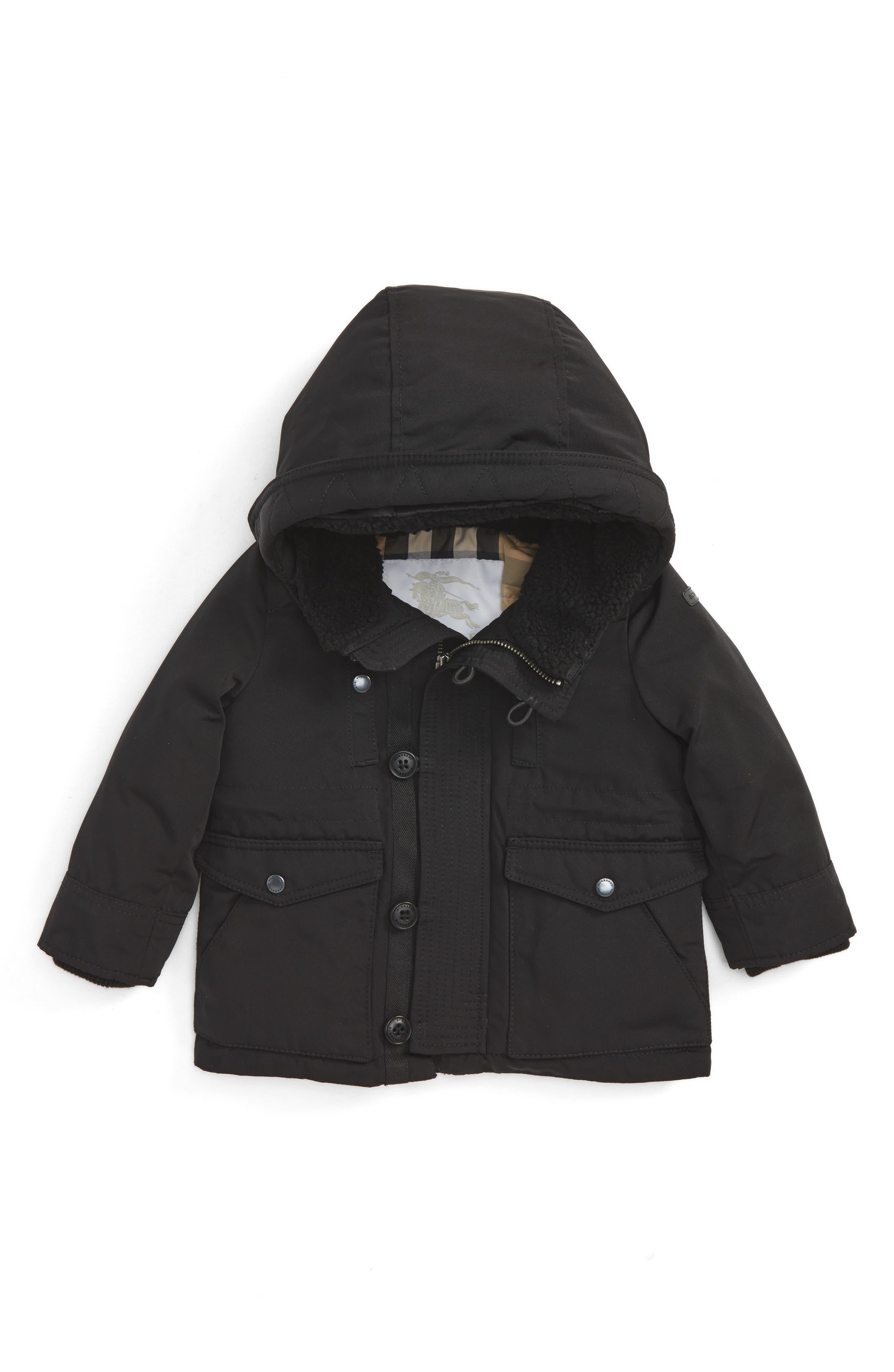 Main Image - Burberry Mini Elliott Down Jacket (Baby)