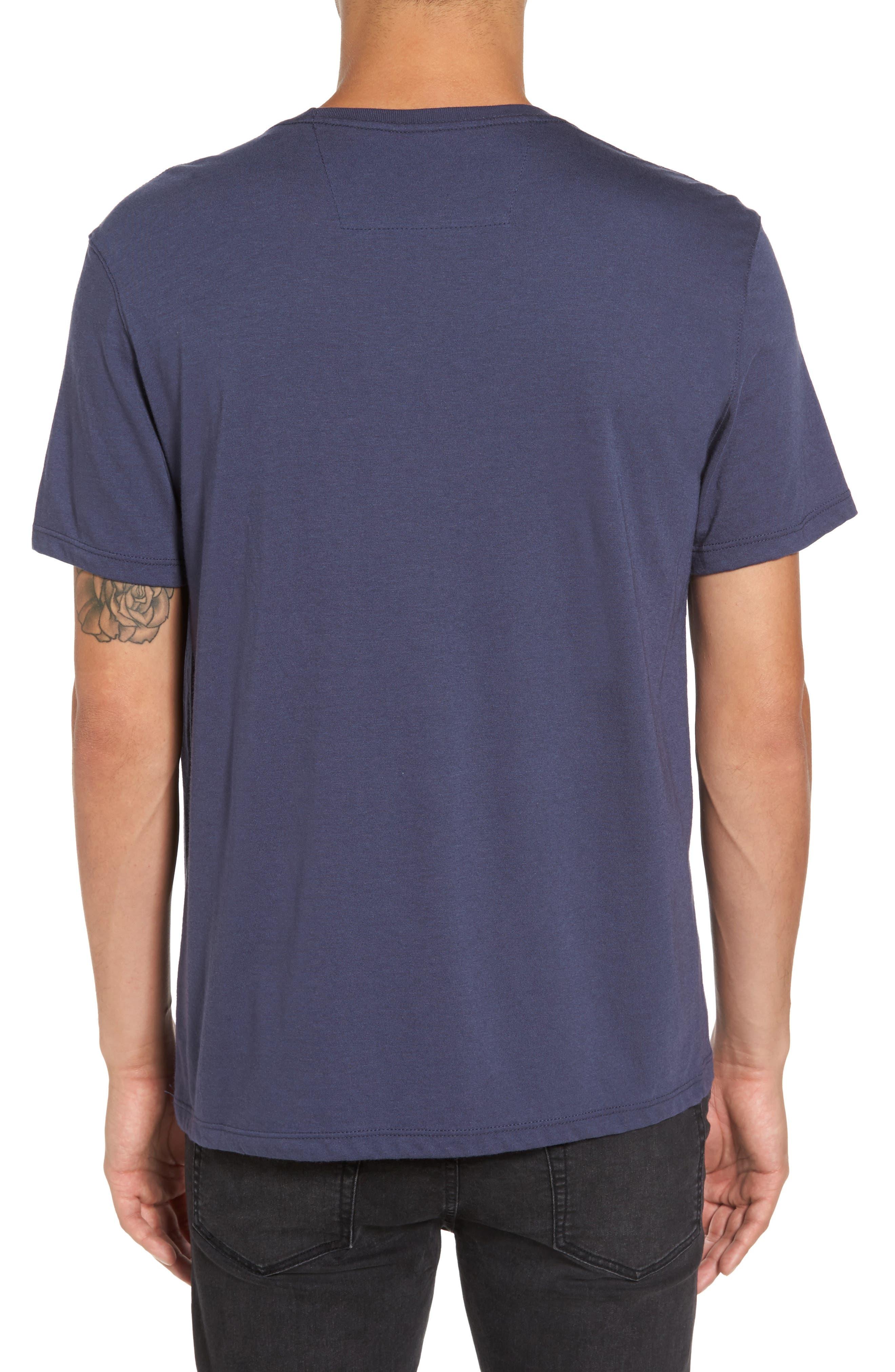 Guitar Stack Graphic T-Shirt,                             Alternate thumbnail 2, color,                             Twilight Blue