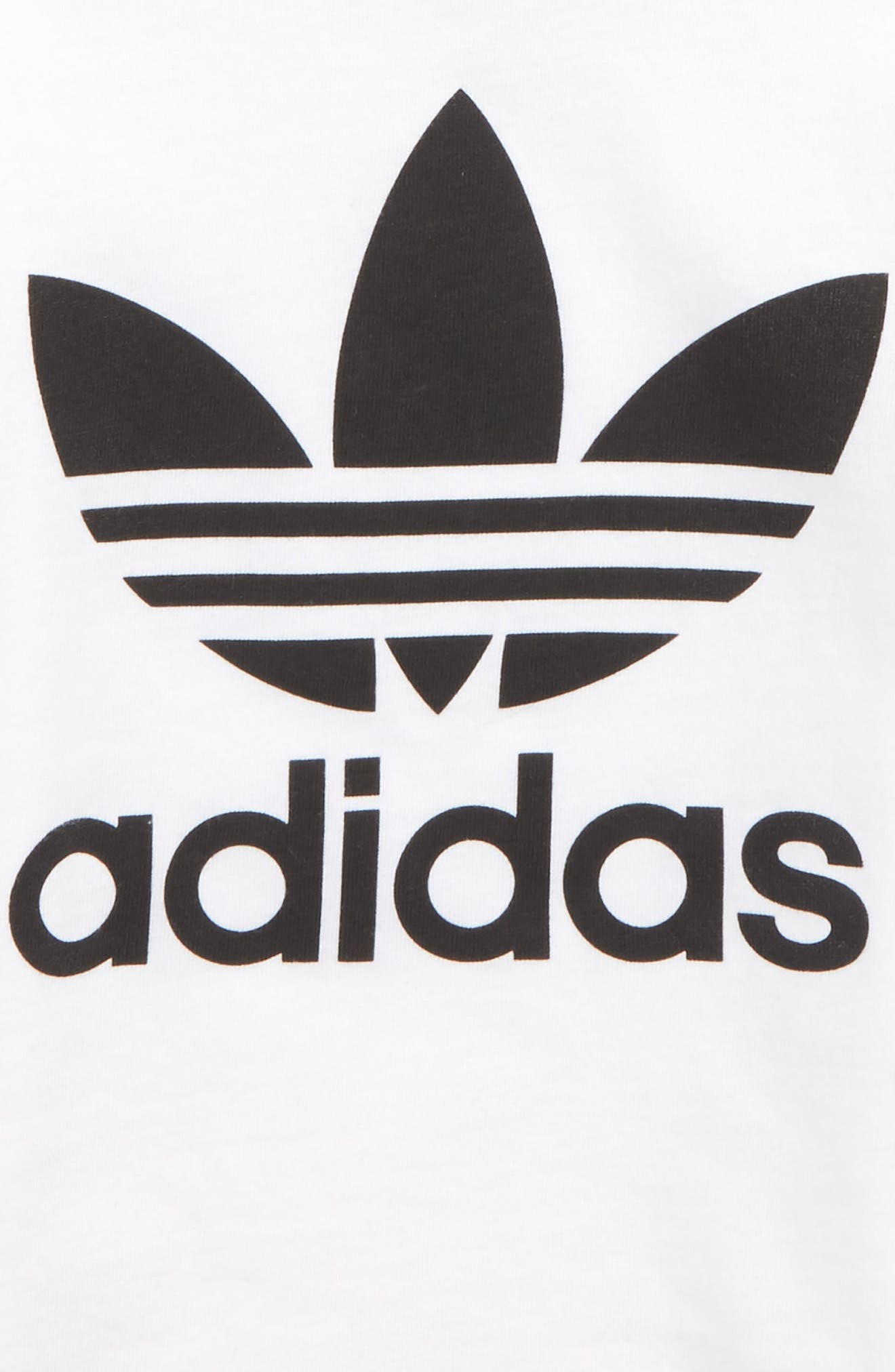 Alternate Image 2  - adidas Originals Trefoil Graphic T-Shirt (Baby)