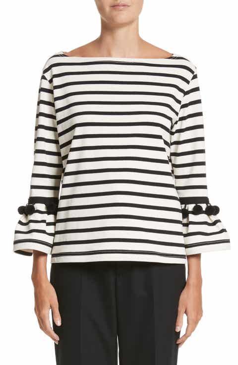 MARC JACOBS Pompom Stripe Tee