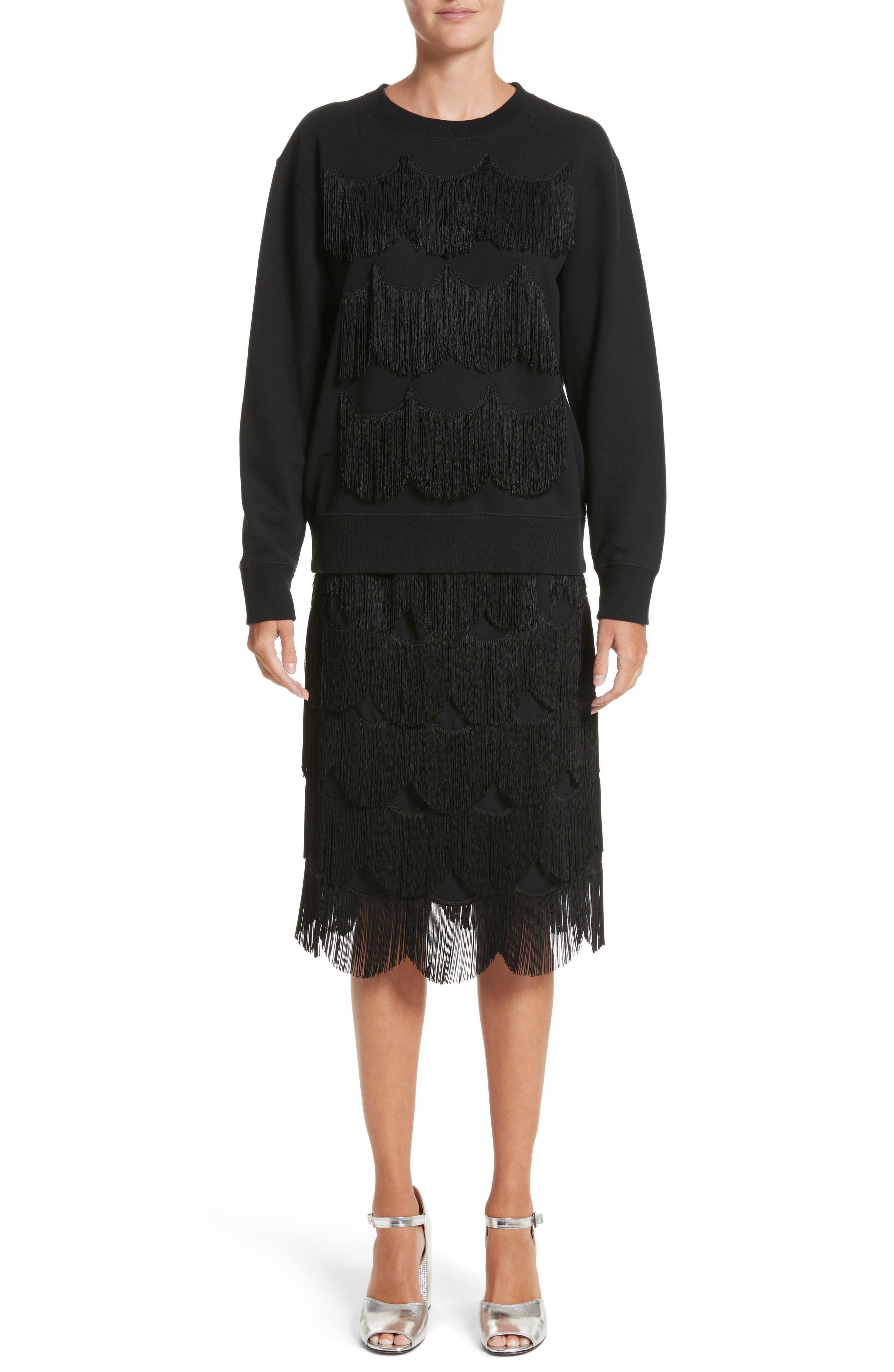Alternate Image 9  - MARC JACOBS Fringe Skirt