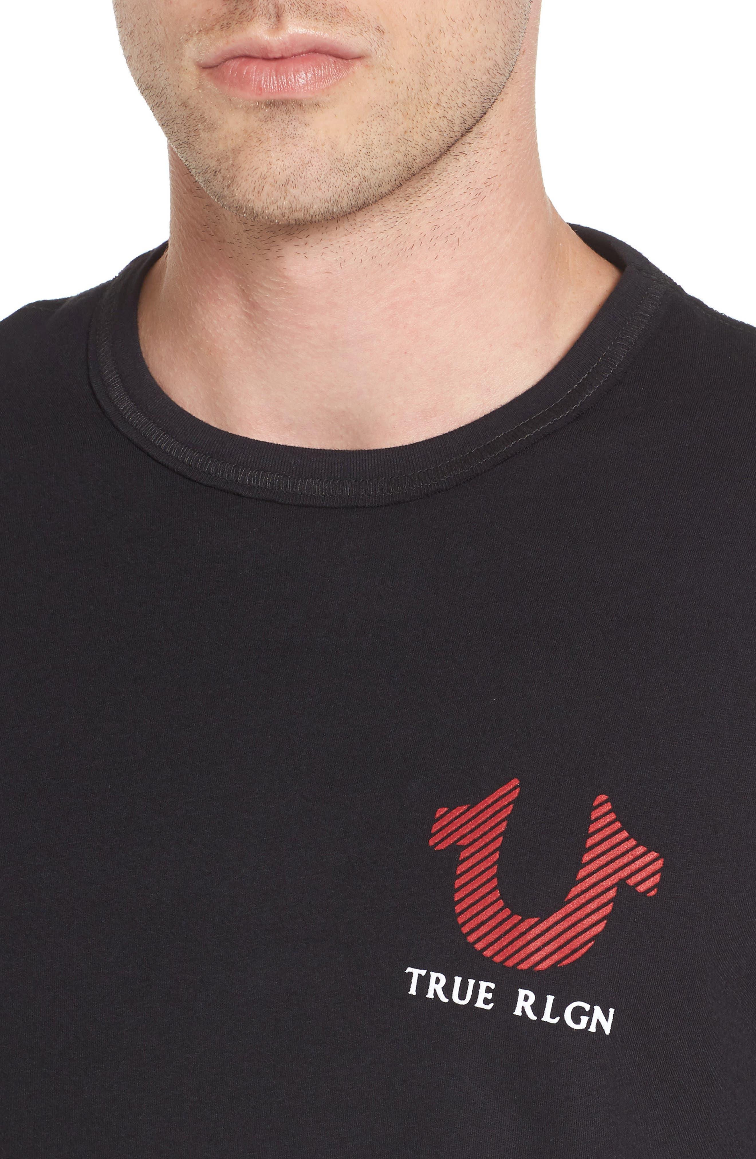 Alternate Image 4  - True Religion Brand Jeans Logo Graphic T-Shirt