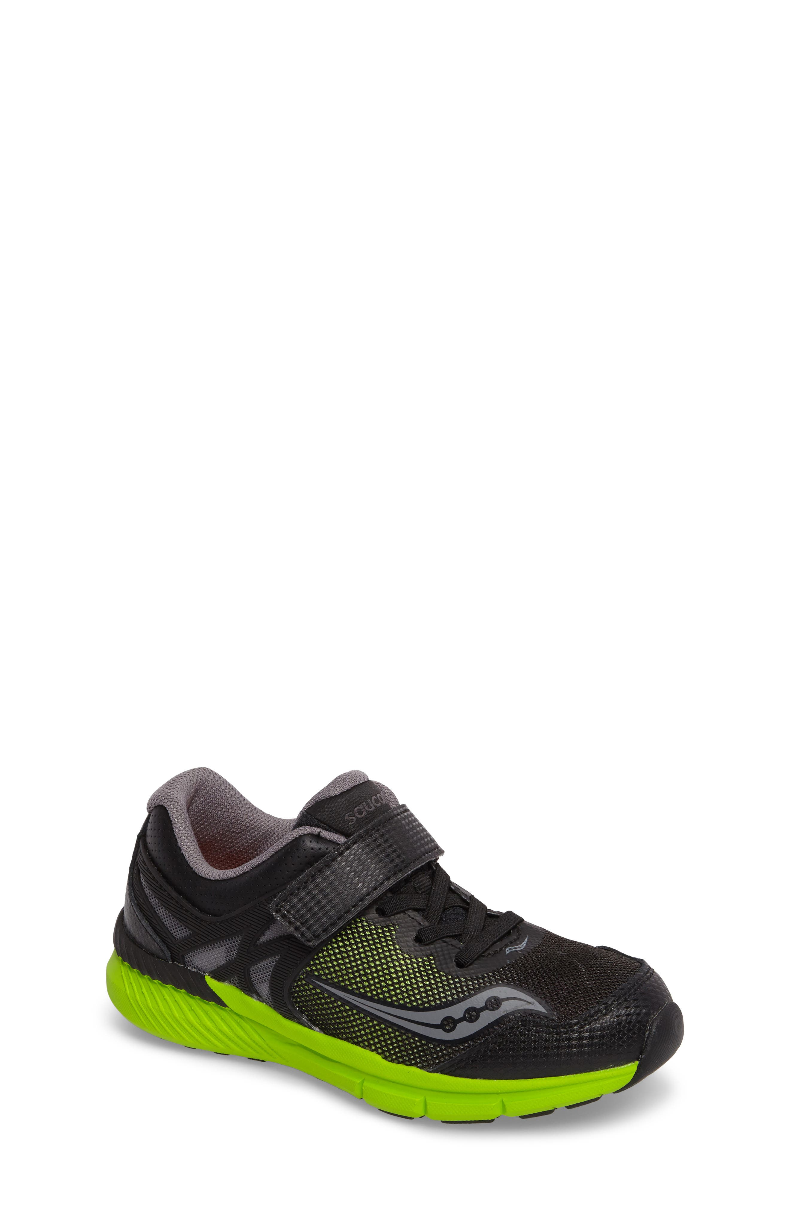 Velocity A/C Sneaker,                         Main,                         color, Black/ Green