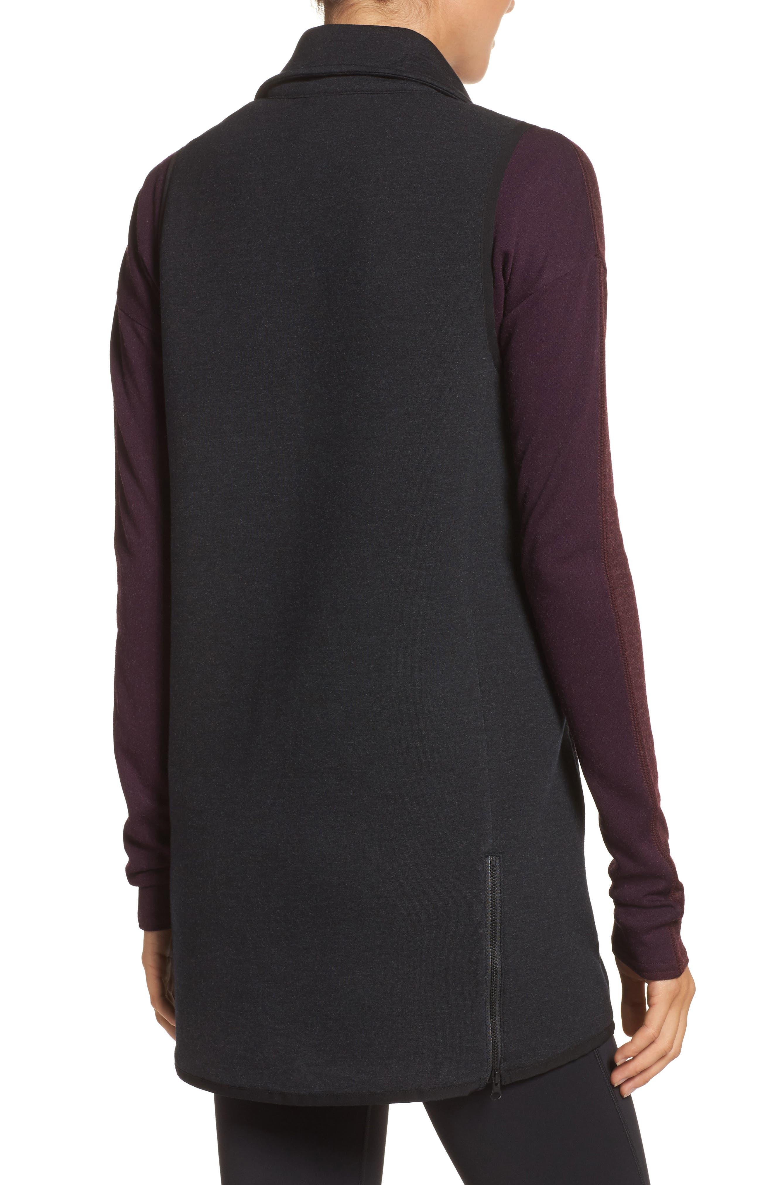 24/7 Luxe Vest,                             Alternate thumbnail 2, color,                             Bk