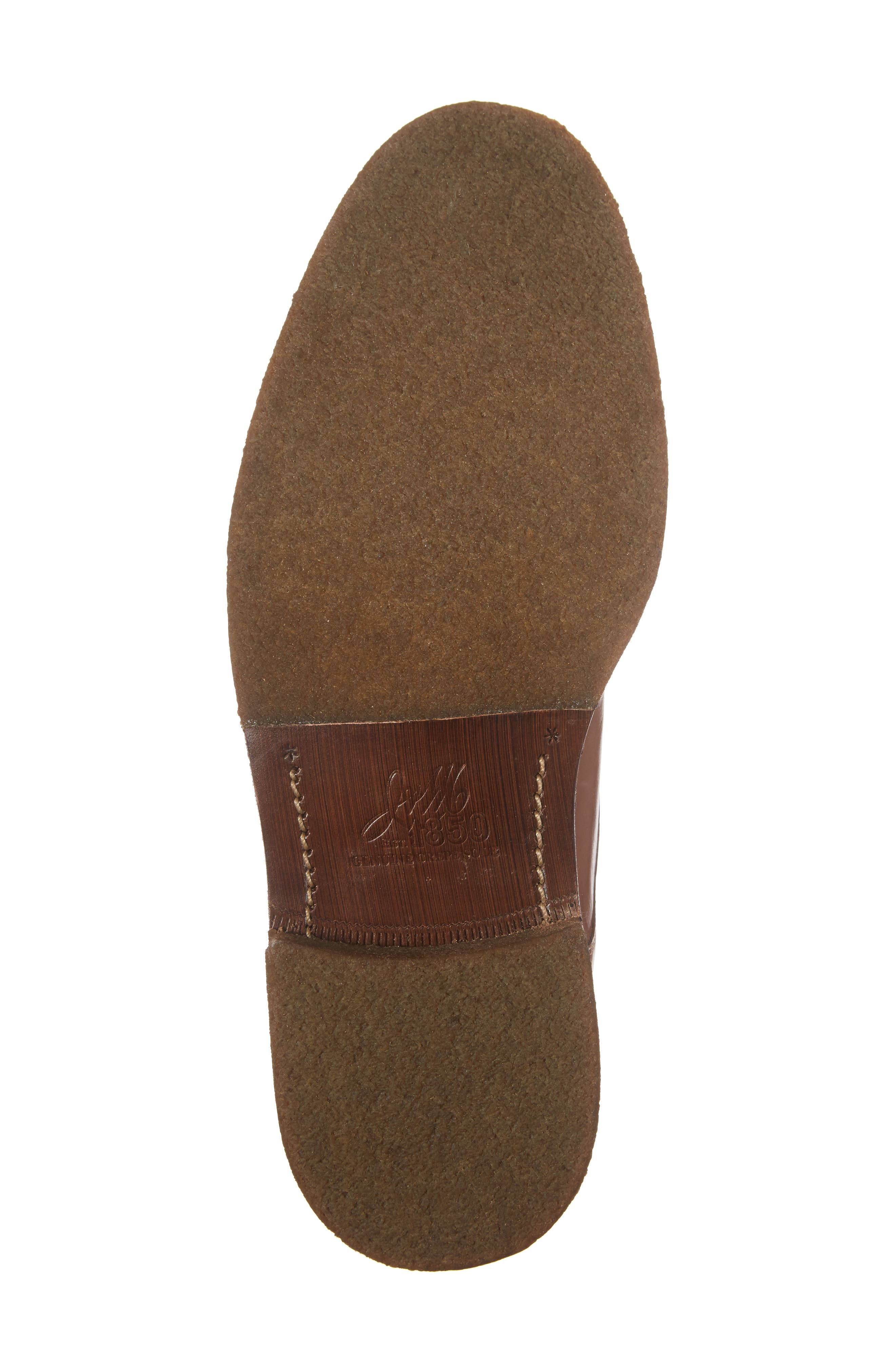 Forrester Cap Toe Boot,                             Alternate thumbnail 7, color,                             Tan Leather