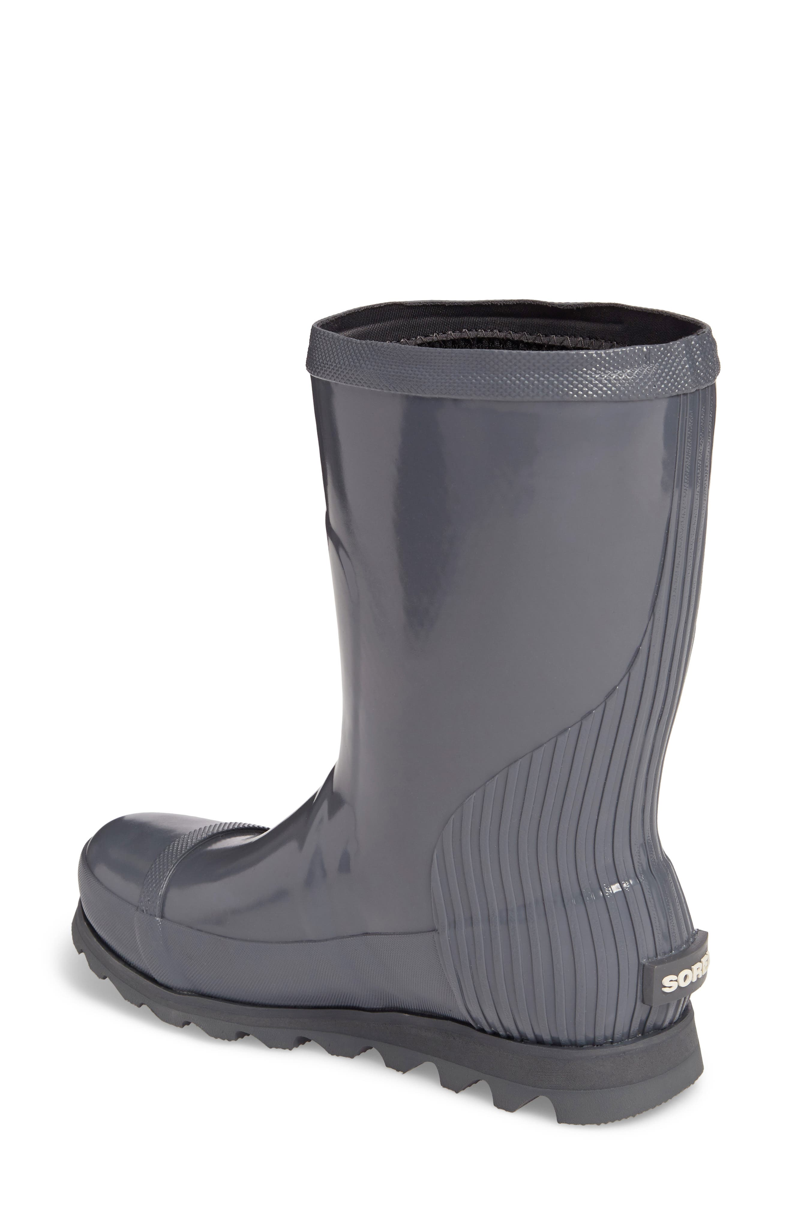 Alternate Image 2  - SOREL Joan Glossy Short Rain Boot (Women)